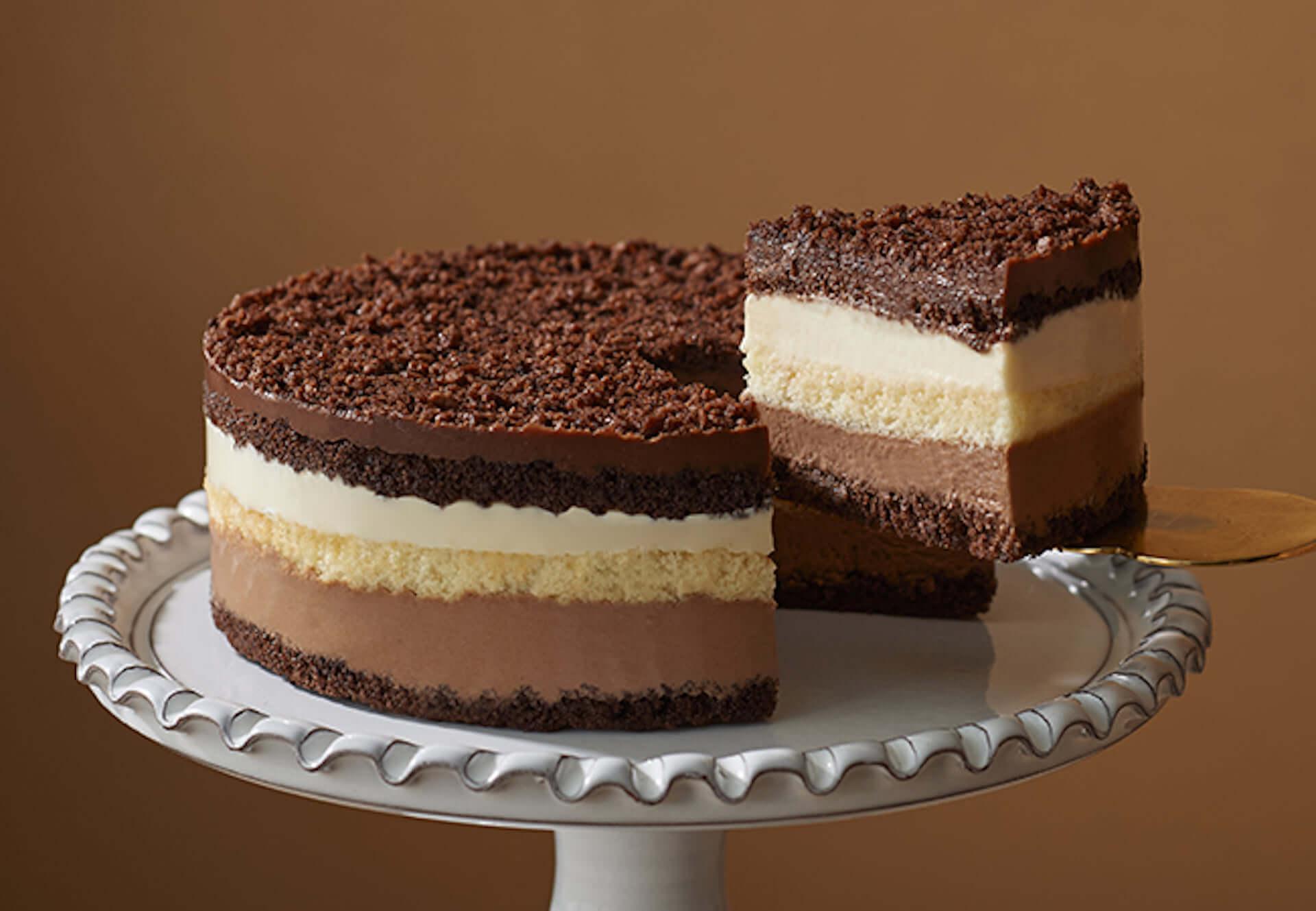 豪華7層のチョコレートケーキ『クーシュドショコラ』が小樽洋菓子舗ルタオから登場!バレンタイン期間限定で販売中 gourmet210128_letao_3-1920x1329