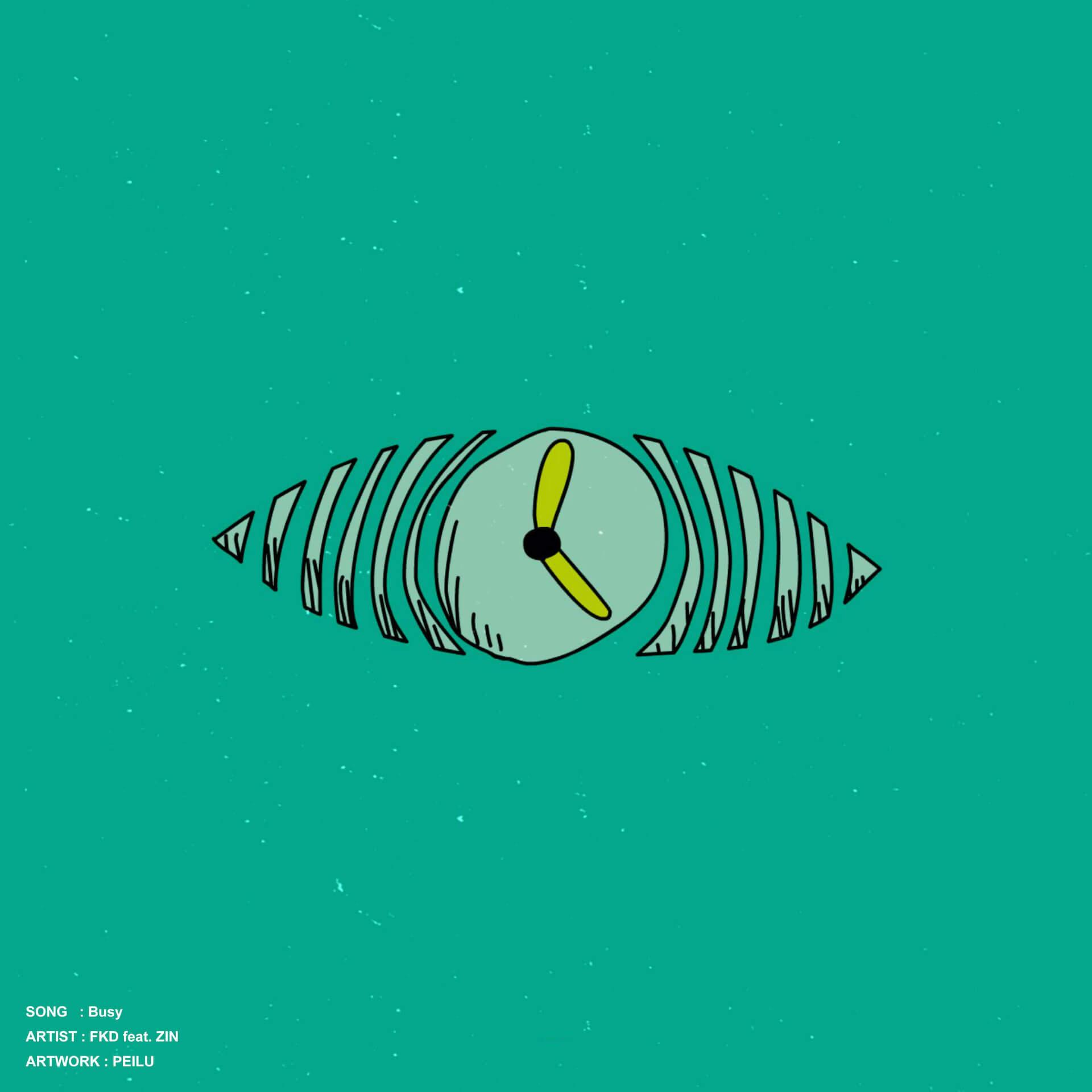 """ビートメイカー・FKDのコンセプトアルバム『Duality』がリリース発表!SSW・ZINを客演に迎えた先行配信曲""""Busy""""をリリース&MV公開 music201228_fkd-01"""