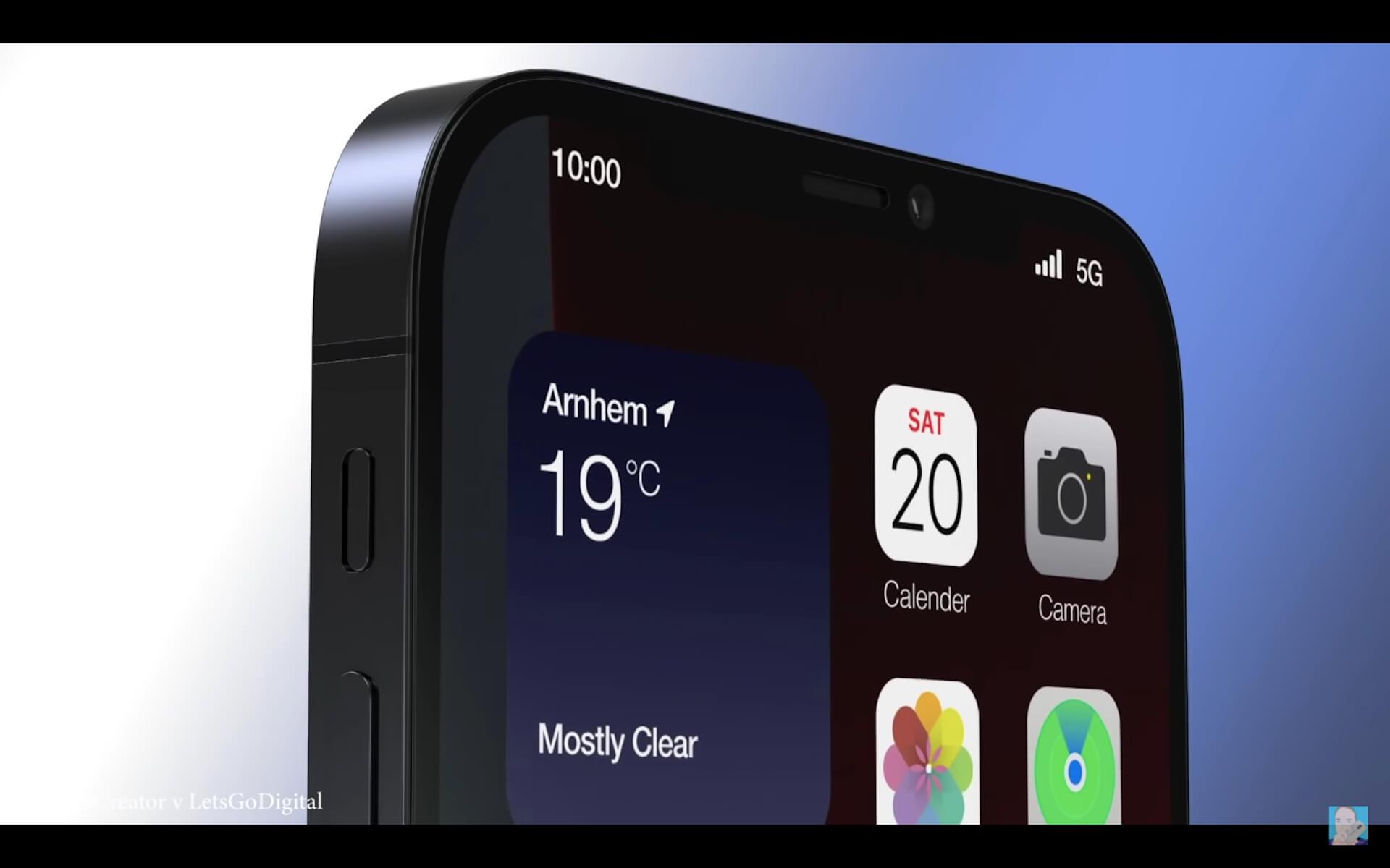 新型iPhoneのデザインはこうなる?リーク情報を基にしたコンセプト動画が公開 tech210201_iphone13_1