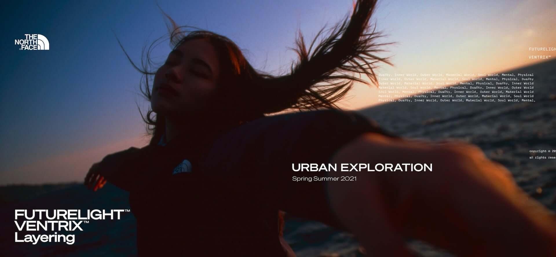 THE NORTH FACEの「Urban Exploration」から防水コーチジャケットなどの新作が続々登場!特別映像も公開 lf210201_tnf_7-1920x888