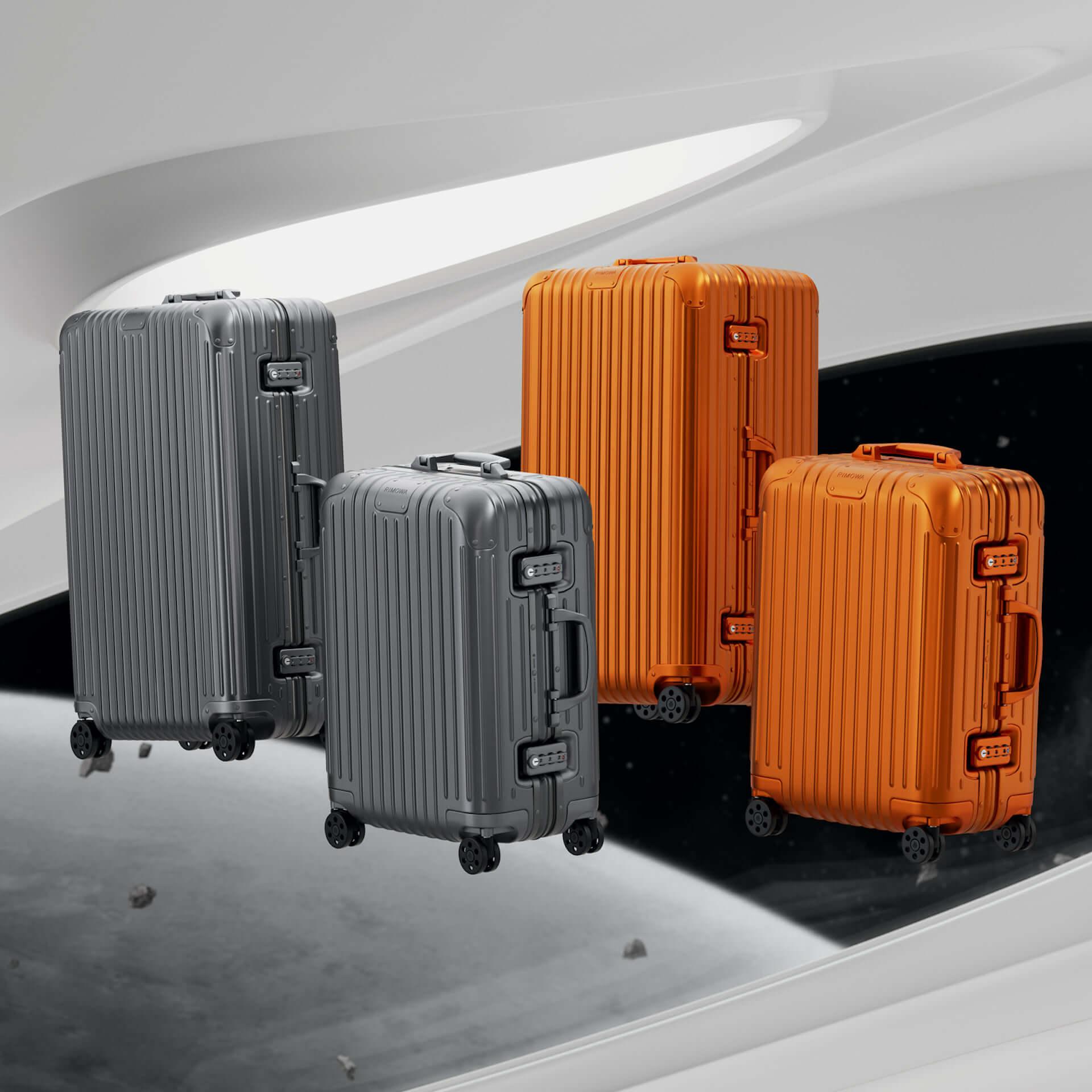 RIMOWAを代表するアルミニウム合金製スーツケースの新色が発売決定!銀河から着想を得たオレンジ、ミディアムグレーが登場 tech210202_rimowa_1-1920x1920