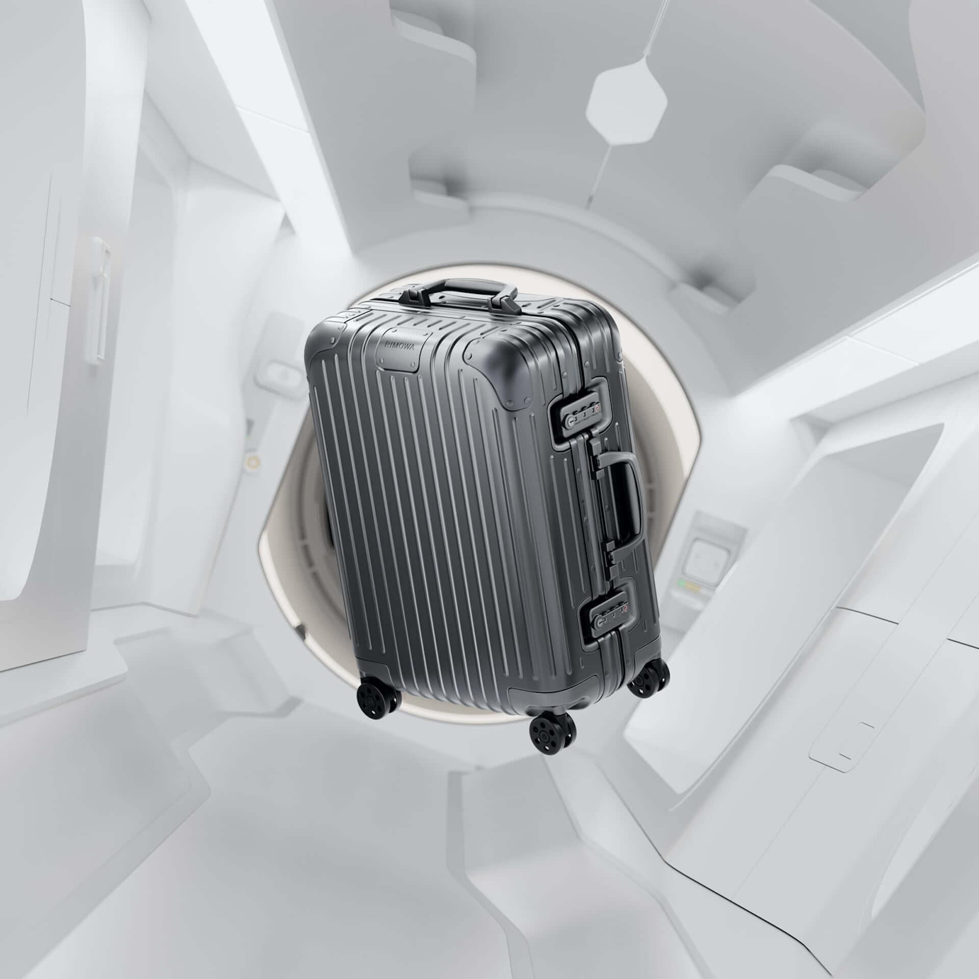 RIMOWAを代表するアルミニウム合金製スーツケースの新色が発売決定!銀河から着想を得たオレンジ、ミディアムグレーが登場 tech210202_rimowa_5-1920x1920