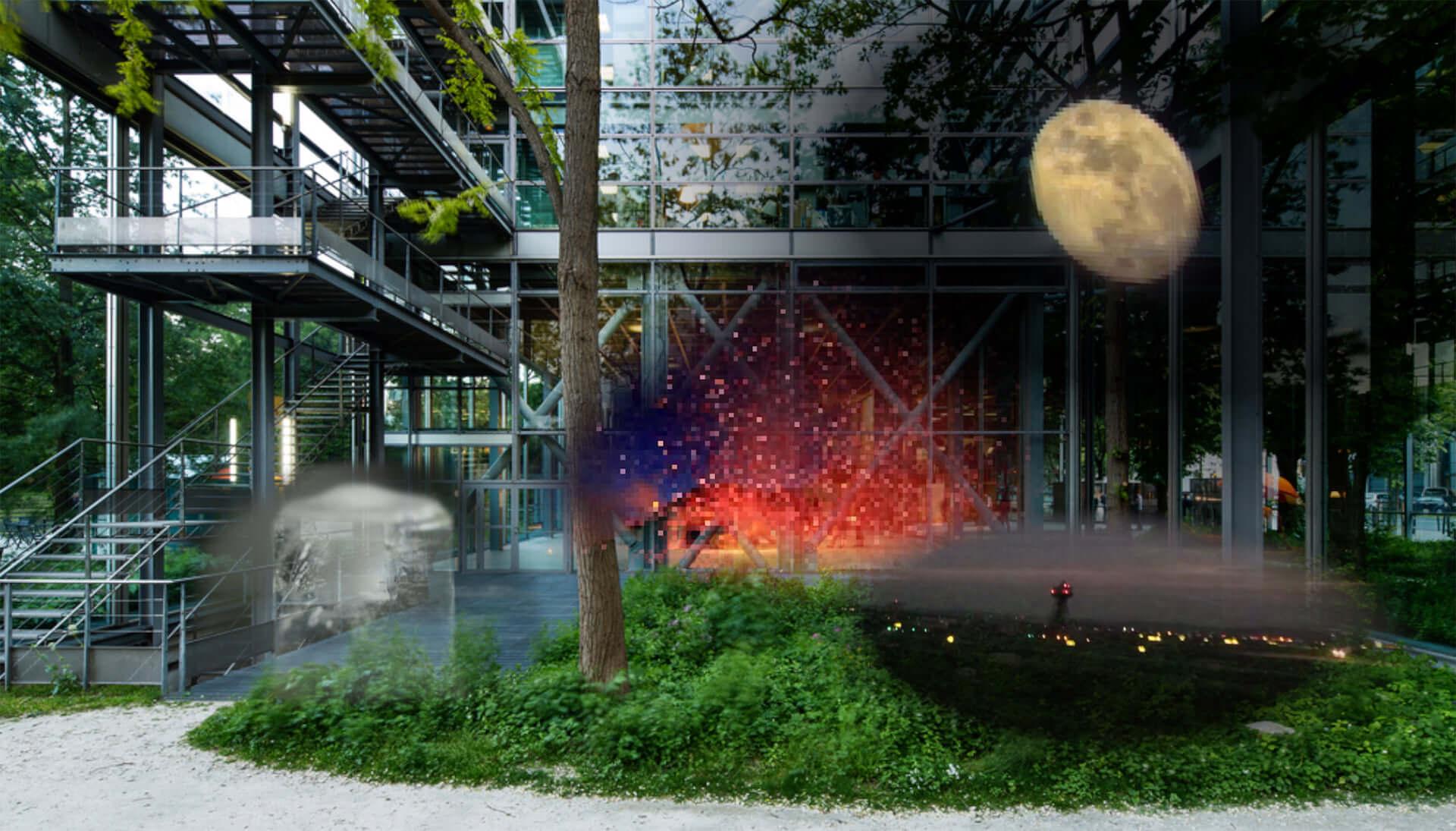 サラ・ジーのインスタレーションをARで体験しよう!カルティエ現代美術財団がアプリ『Night Vision 20/20』をリリース art210202_night-vision_1-1920x1095