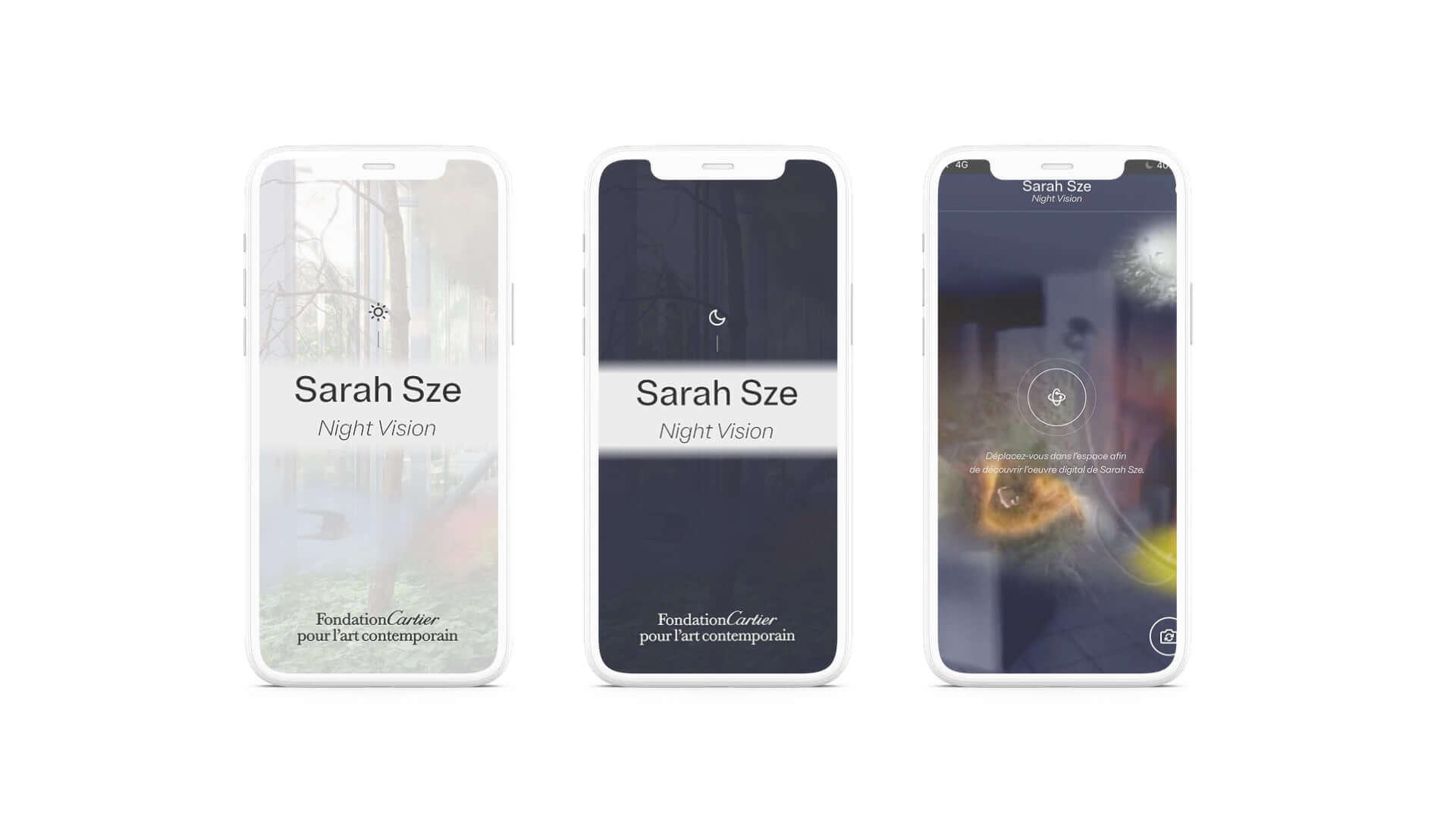 サラ・ジーのインスタレーションをARで体験しよう!カルティエ現代美術財団がアプリ『Night Vision 20/20』をリリース art210202_night-vision_2-1920x1076