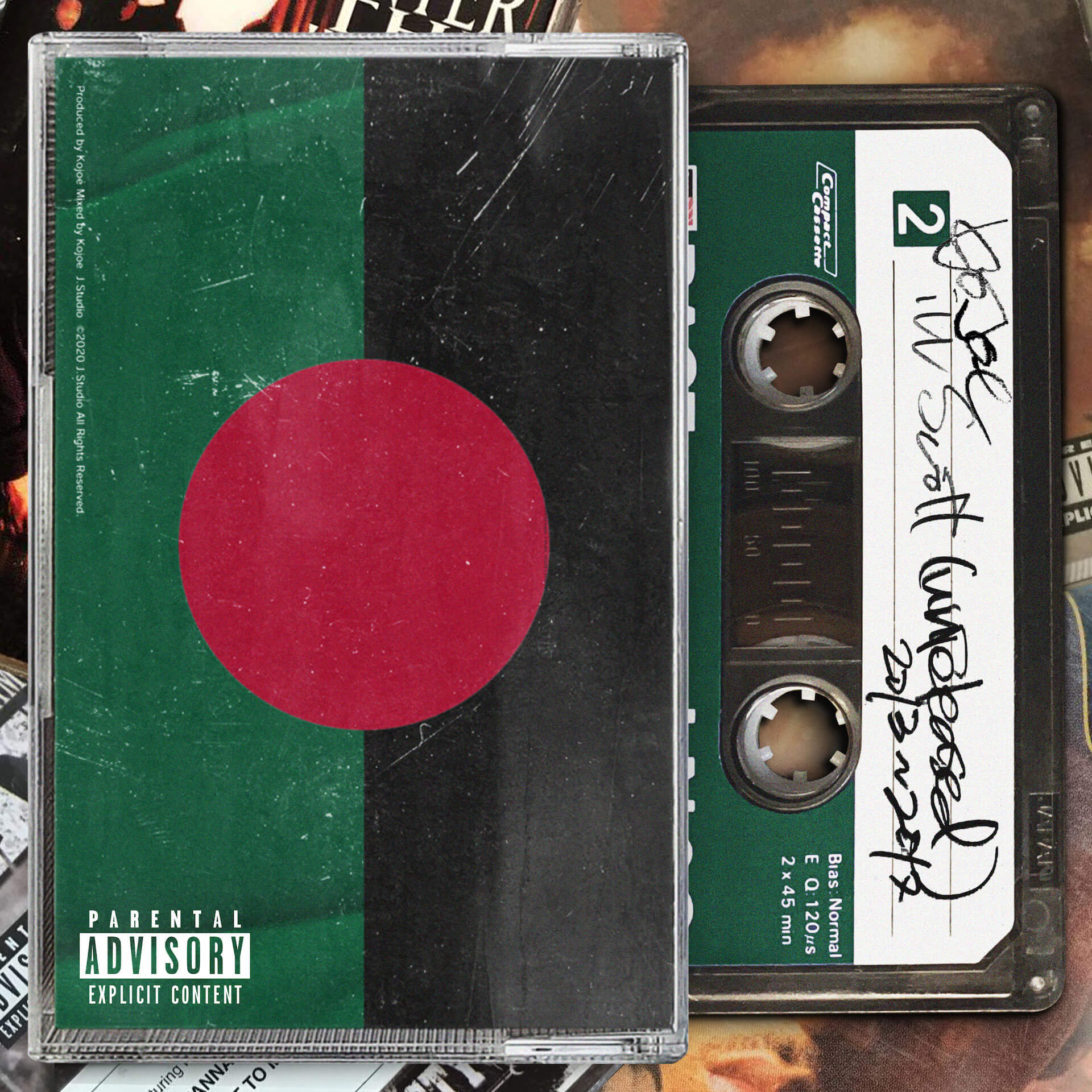 KOJOEが配信限定のアンリリースド・トラック集『iLL Scott』をリリース!CDのみでしか聞けなかった未発表曲やRemixをコンパイルした楽曲を収録 music210203_kojoe_illscott_1