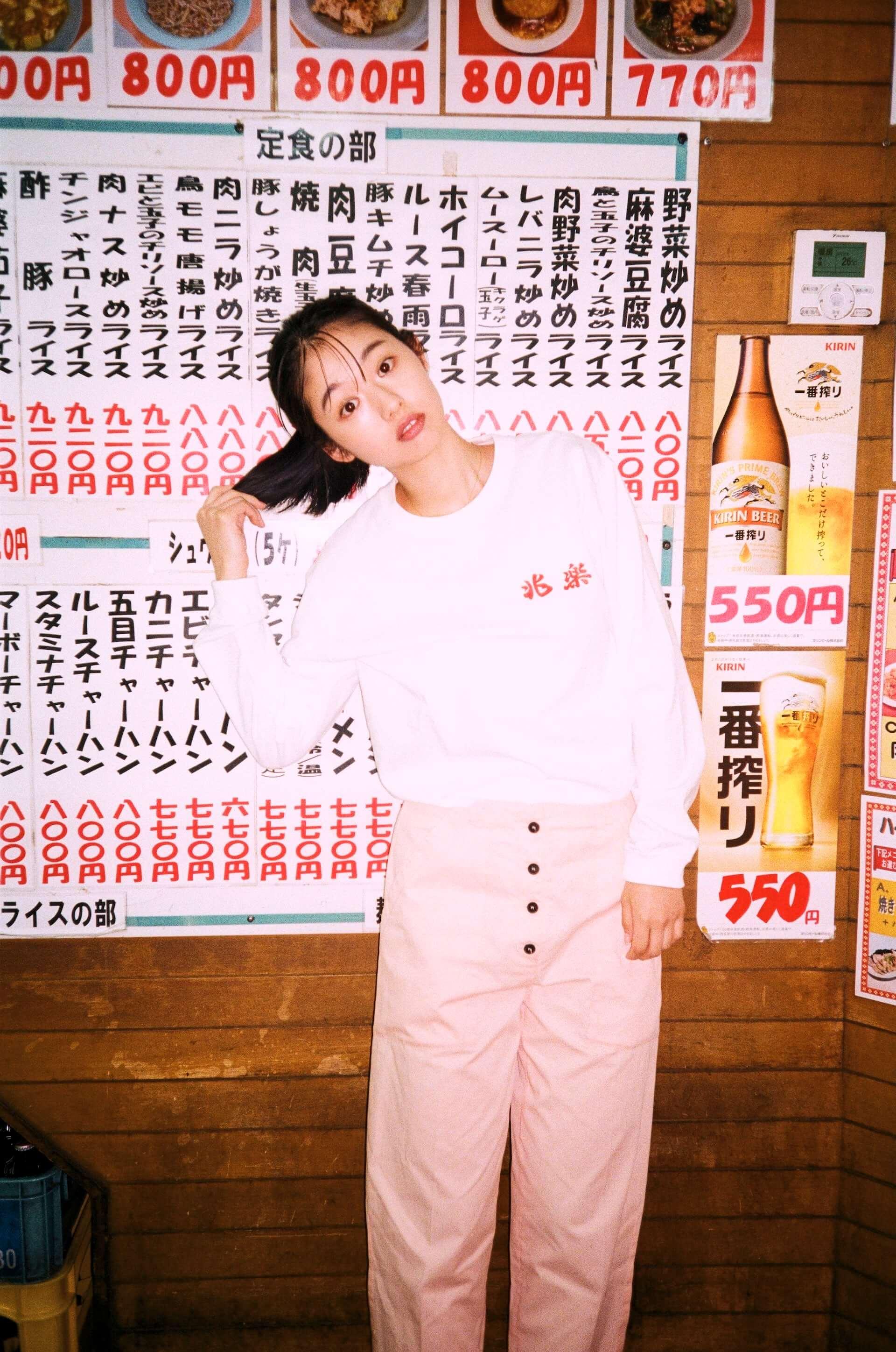 渋谷の街中華・兆楽とJOURNAL STANDARDがコラボ!Tシャツやキャップ、エコバッグが受注販売開始 lf210205_choraku-journalstandard_3-1920x2895