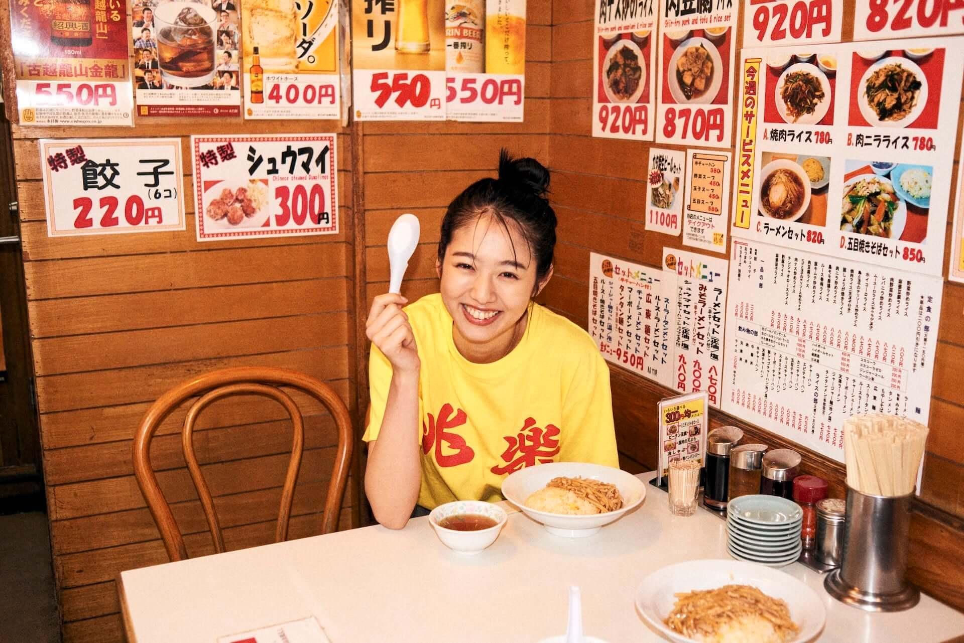 渋谷の街中華・兆楽とJOURNAL STANDARDがコラボ!Tシャツやキャップ、エコバッグが受注販売開始 lf210205_choraku-journalstandard_9-1920x1281