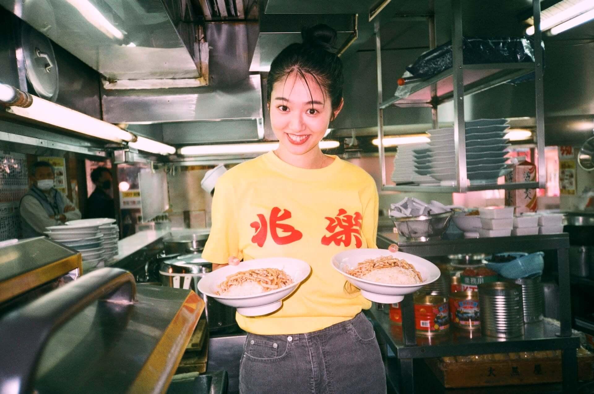 渋谷の街中華・兆楽とJOURNAL STANDARDがコラボ!Tシャツやキャップ、エコバッグが受注販売開始 lf210205_choraku-journalstandard_11-1920x1273