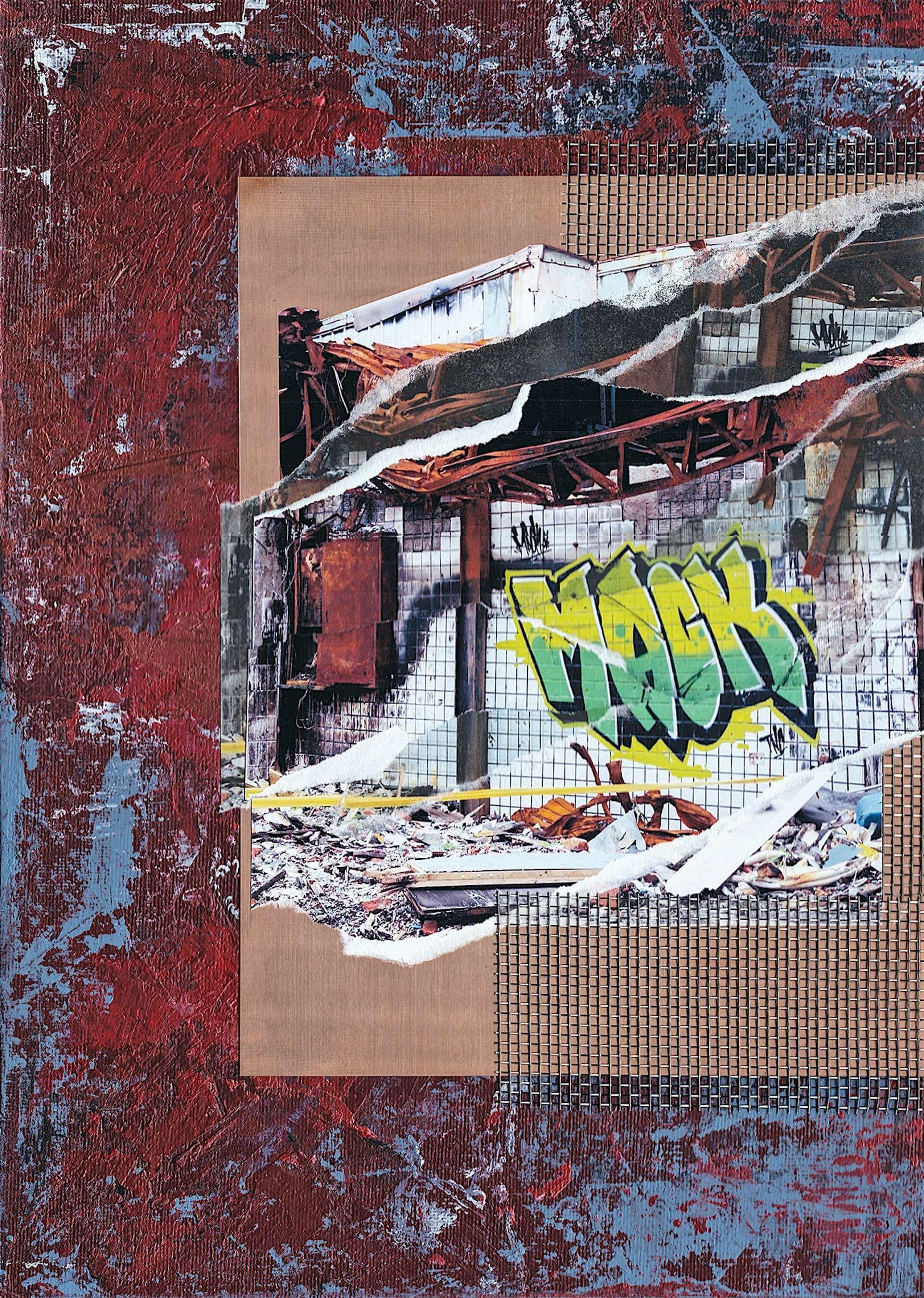 コラージュアーティスト・Yabiku Henrique Yudiの個展<MOTION>がDIESEL ART GALLERYで開催決定!30点以上の新作を展示 art210208_yabiku-henrique-yudi_1-1920x2695