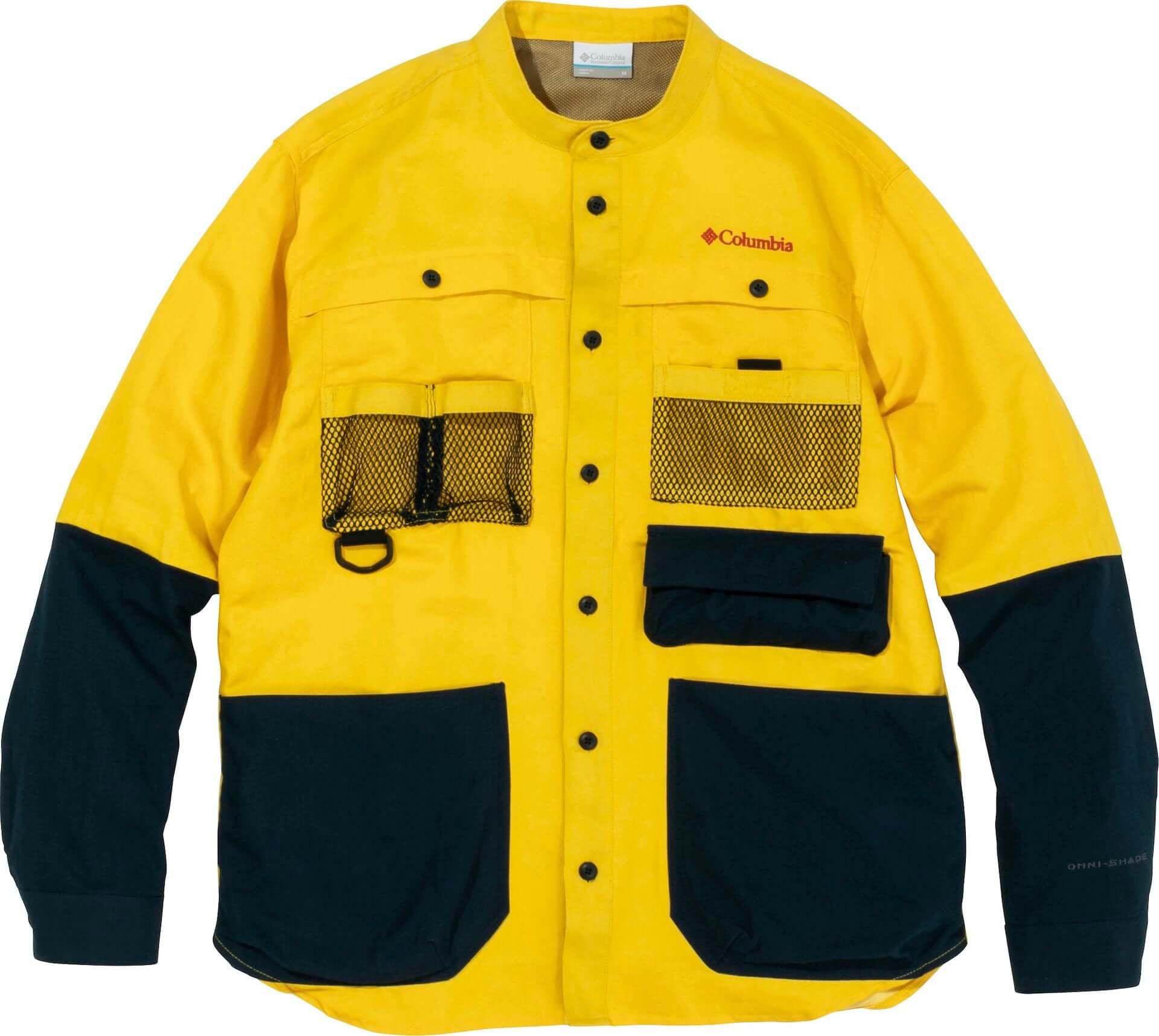 コロンビアとたけだバーベキューがコラボ!キャンプに最適な多機能シャツ、パンツ、シューズが発売決定 lf210210_coleman-takedabbq_11-1920x1717