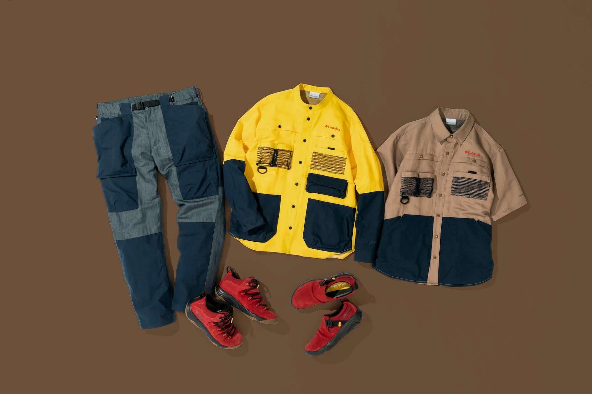 コロンビアとたけだバーベキューがコラボ!キャンプに最適な多機能シャツ、パンツ、シューズが発売決定 lf210210_coleman-takedabbq_13-1920x1280