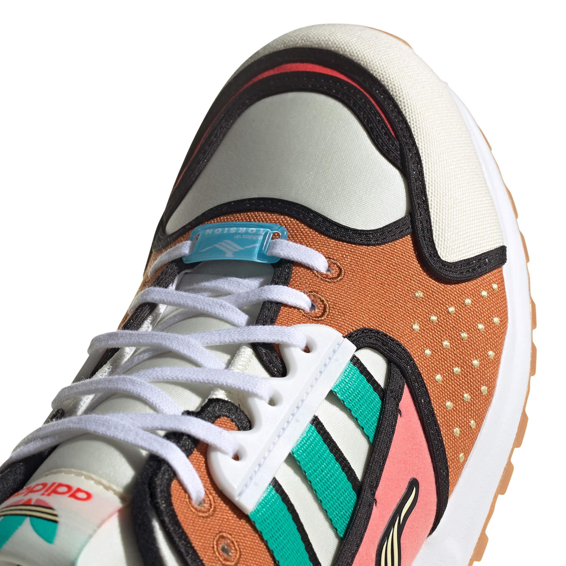 adidas Originals「A-ZX」シリーズにザ・シンプソンズKRUSTY BURGERをモチーフにしたモデルが登場!本日より販売開始 life210212_adidas_thesimpsons_10