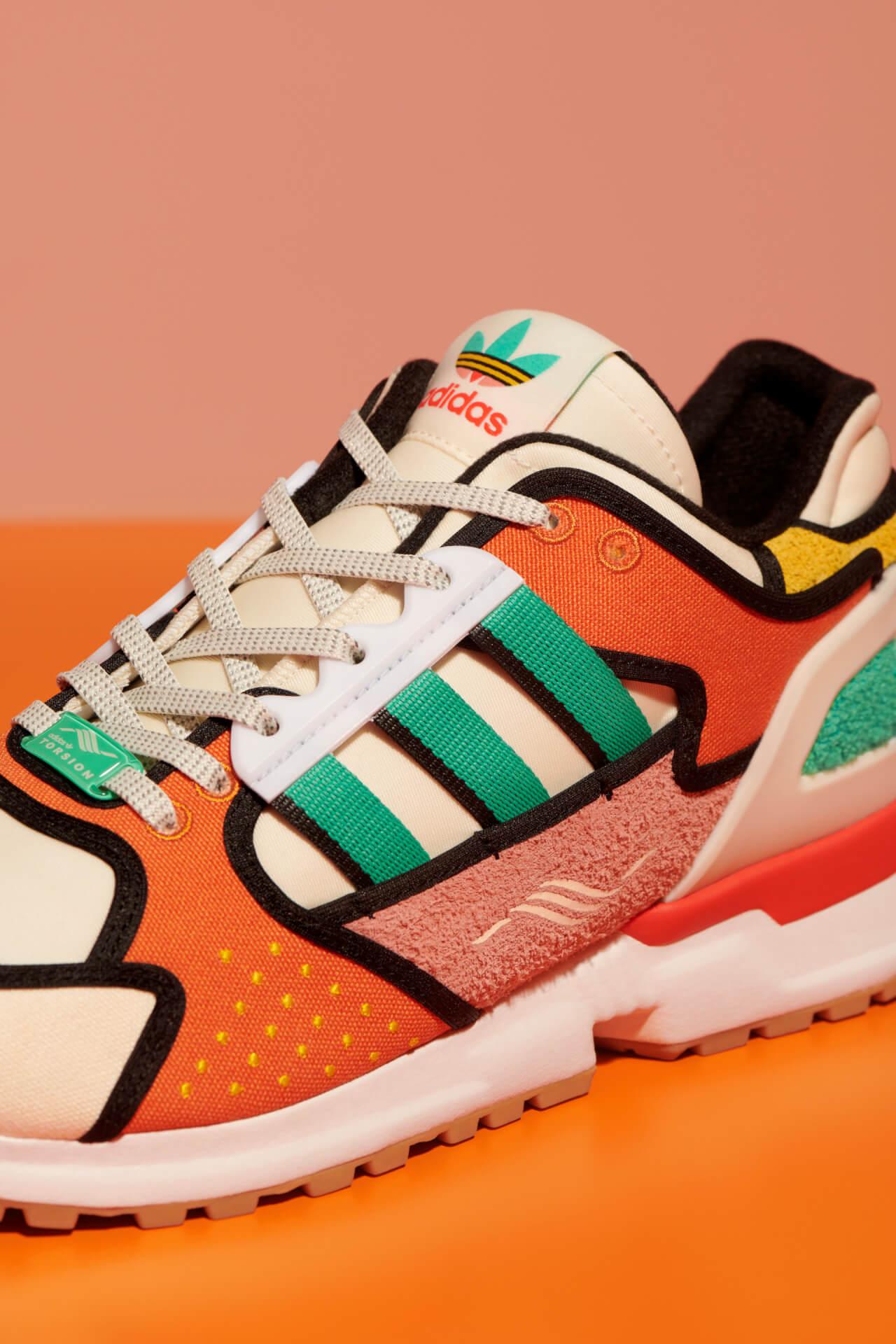 adidas Originals「A-ZX」シリーズにザ・シンプソンズKRUSTY BURGERをモチーフにしたモデルが登場!本日より販売開始 life210212_adidas_thesimpsons_3