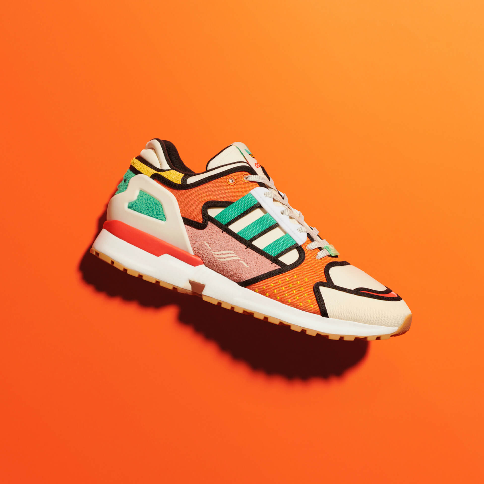 adidas Originals「A-ZX」シリーズにザ・シンプソンズKRUSTY BURGERをモチーフにしたモデルが登場!本日より販売開始 life210212_adidas_thesimpsons_2