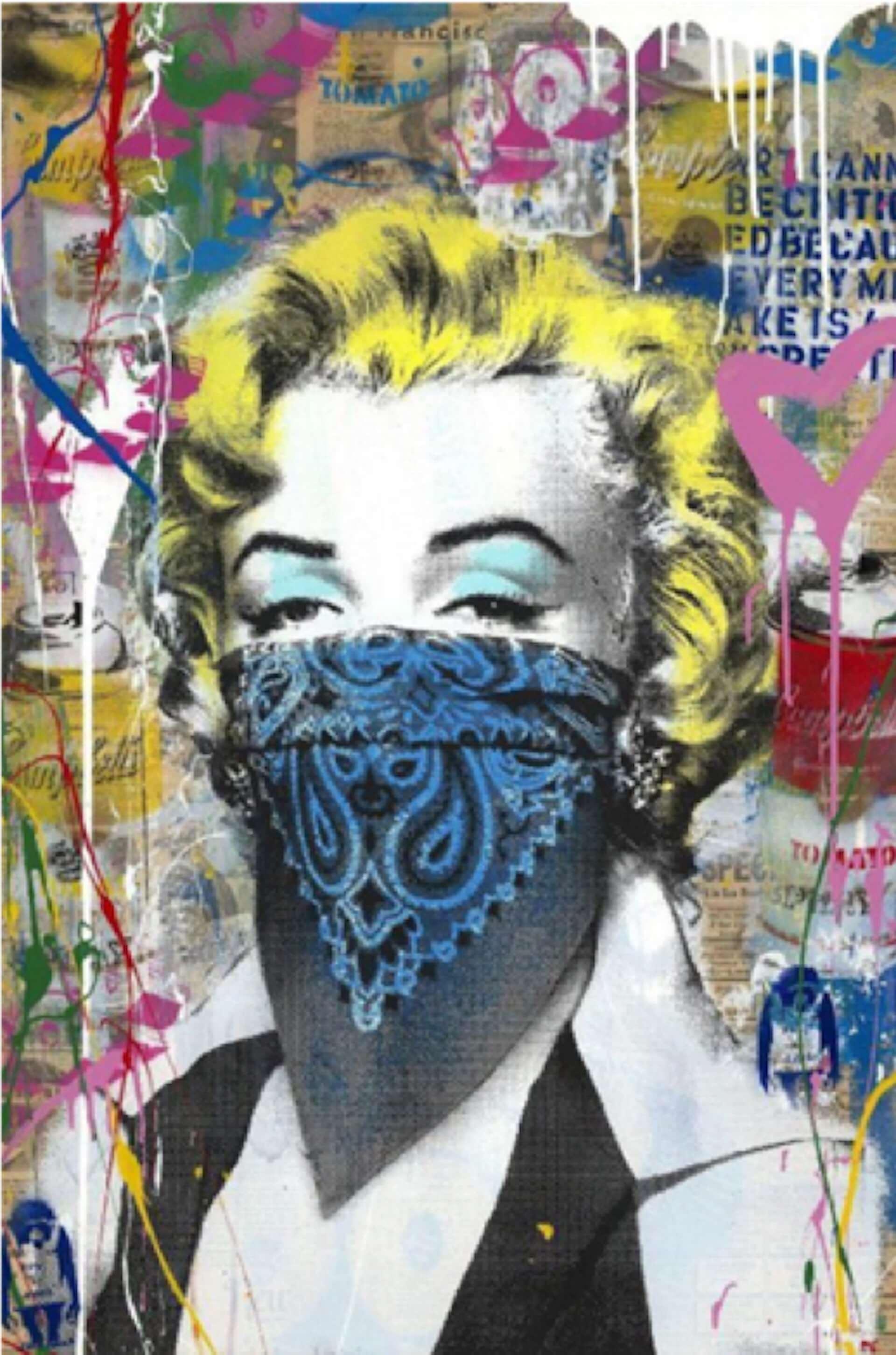 バンクシー映画を機にアーティストになったミスター・ブレインウォッシュの大型個展<LIFE IS BEAUTIFUL>が渋谷PARCOにて開催決定! art210216_mr-brainwash_2-1920x2902