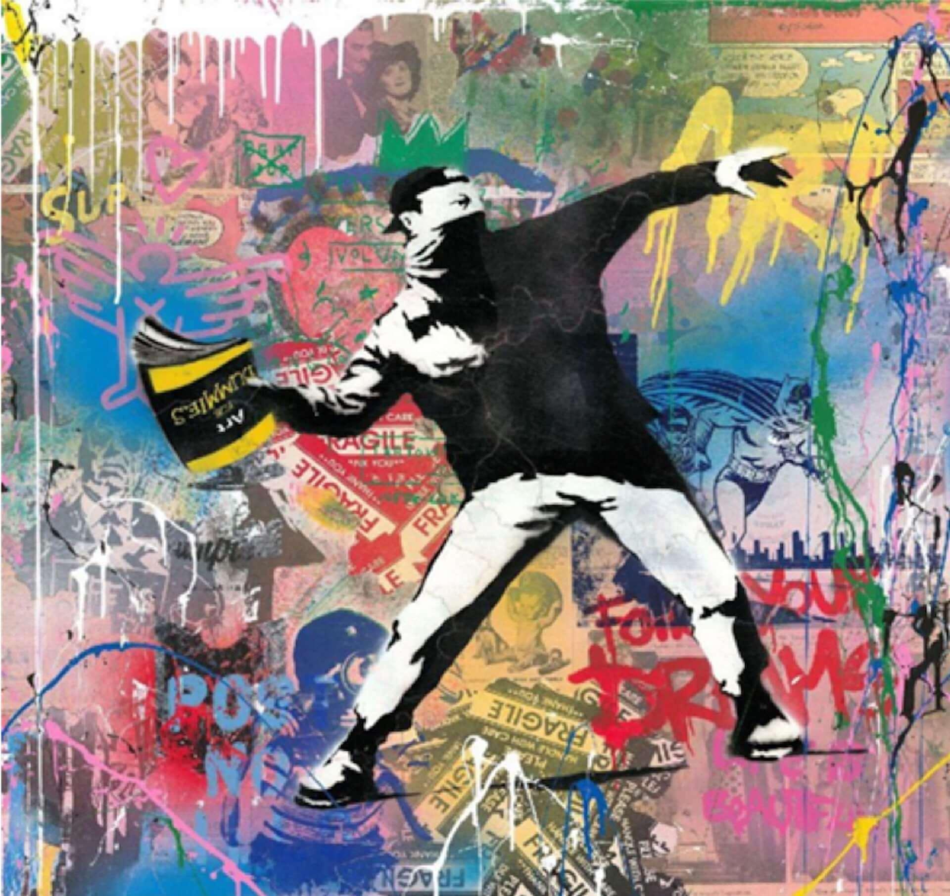バンクシー映画を機にアーティストになったミスター・ブレインウォッシュの大型個展<LIFE IS BEAUTIFUL>が渋谷PARCOにて開催決定! art210216_mr-brainwash_3-1920x1812