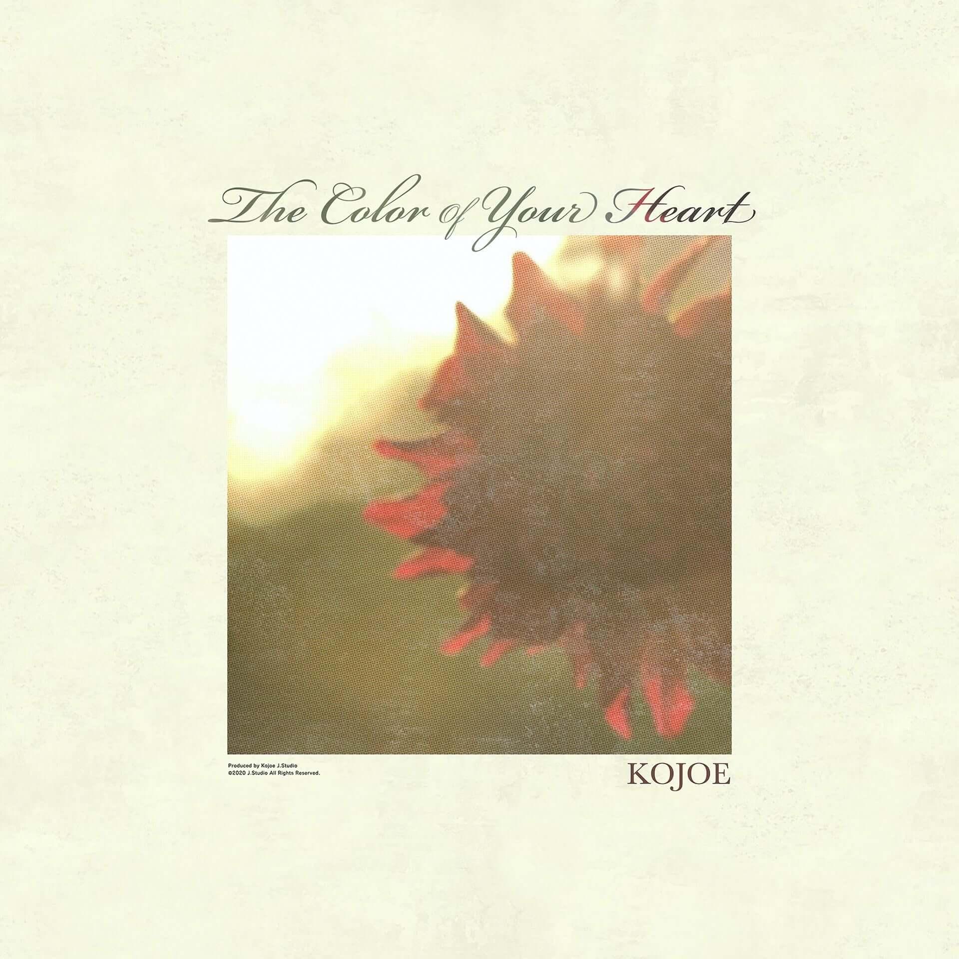 KOJOEが最新ビートテープ・アルバム『The Color of Your Heart』をリリース!自身が撮影した約30分の映像作品も公開 music210217_kojoe_2-1920x1920