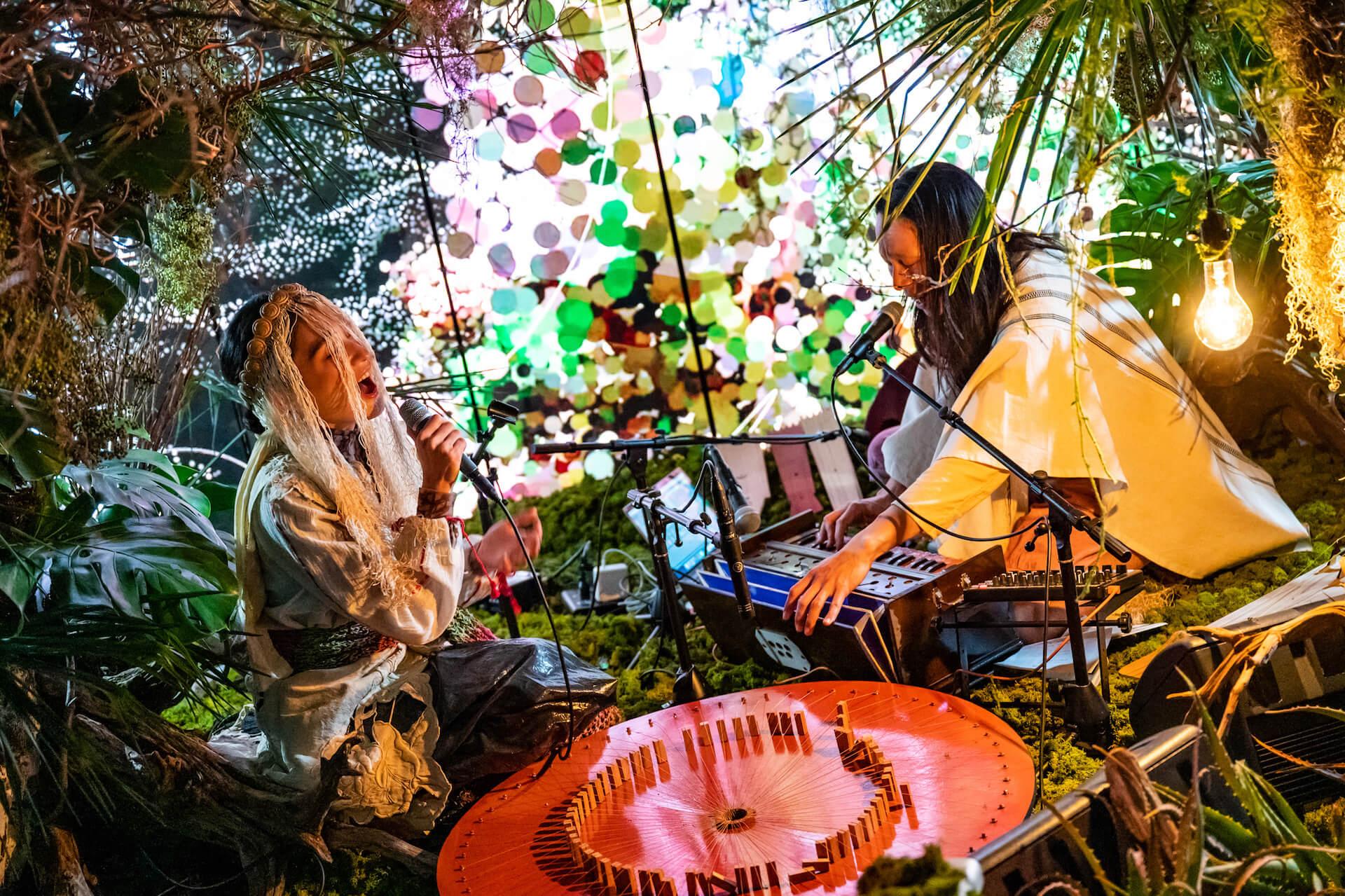 YAKUSHIMA TREASUREの死生観とポストコロナの表現 屋久島の原生林でのライヴ作品『ANOTHER LIVE』に迫る music210219_yakushimatreasure_28