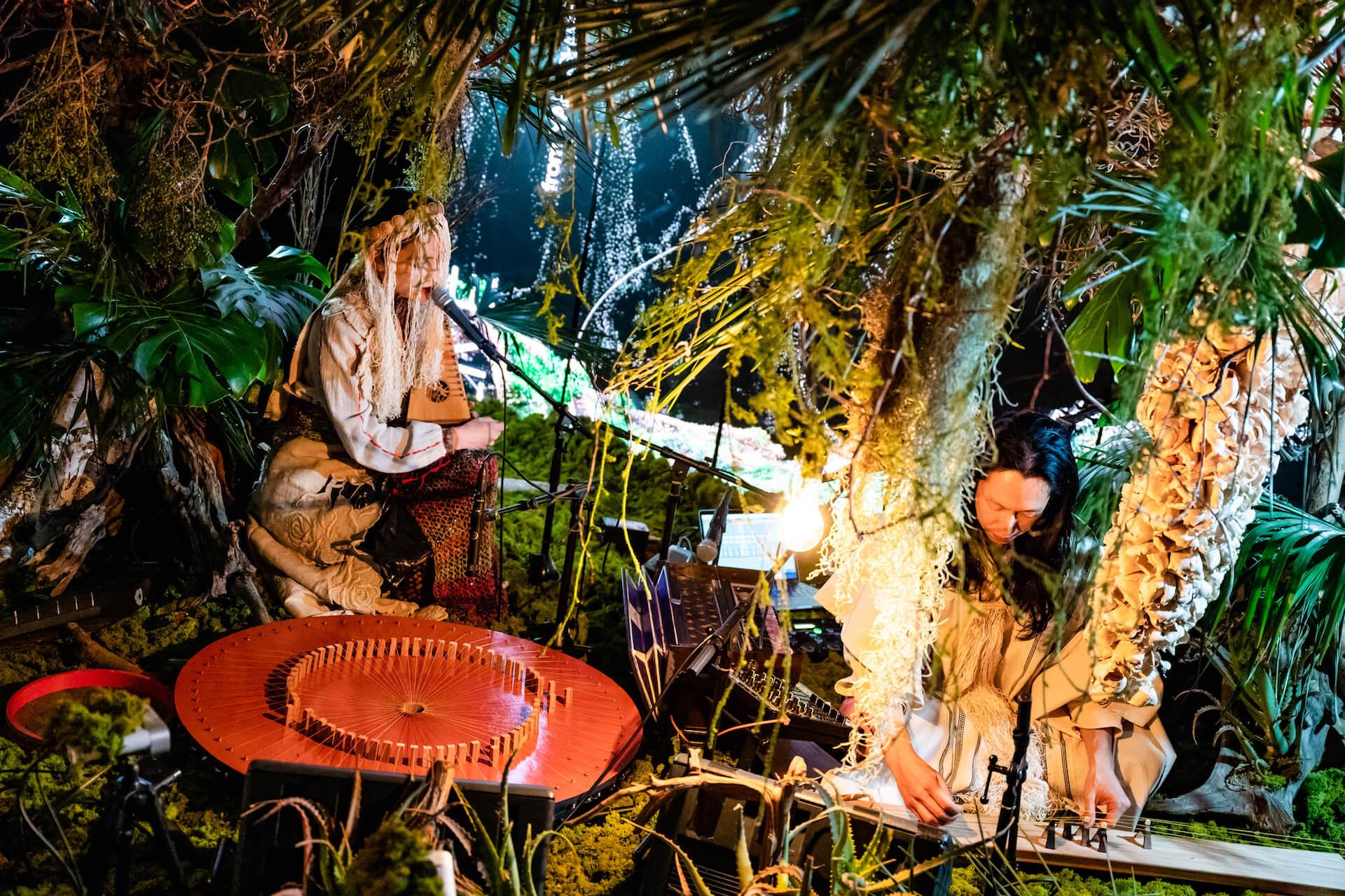 YAKUSHIMA TREASUREの死生観とポストコロナの表現 屋久島の原生林でのライヴ作品『ANOTHER LIVE』に迫る music210219_yakushimatreasure_17