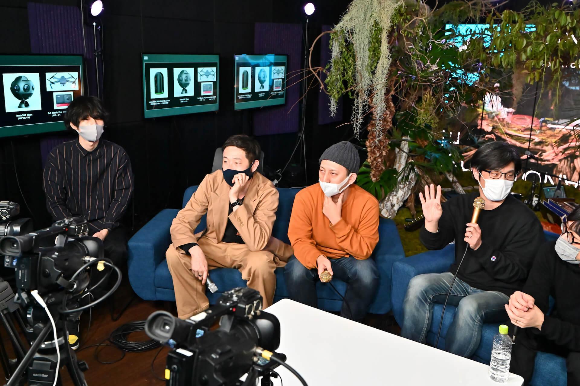 YAKUSHIMA TREASUREの死生観とポストコロナの表現|屋久島の原生林でのライヴ作品『ANOTHER LIVE』に迫る music210219_yakushimatreasure_5
