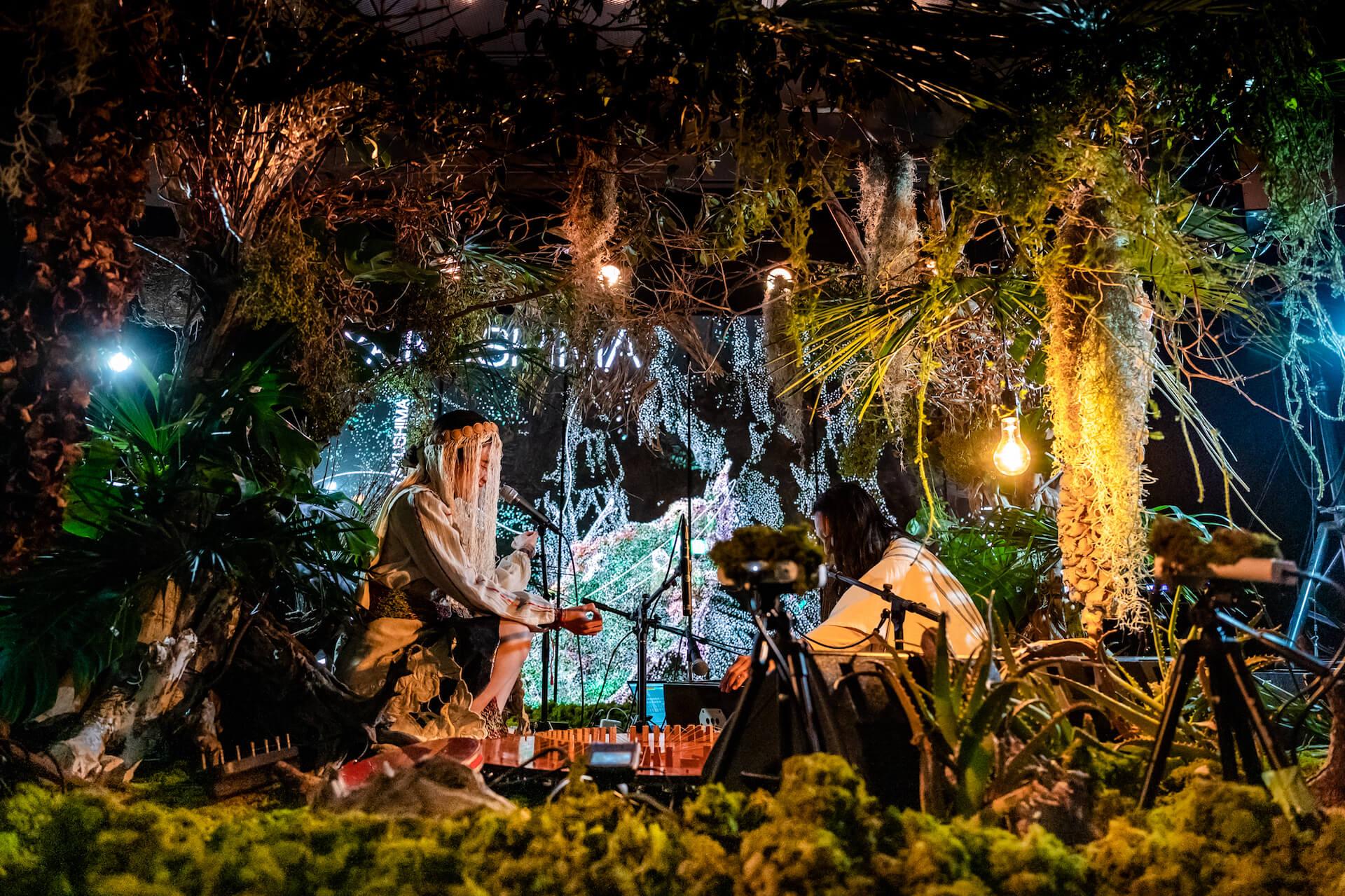 YAKUSHIMA TREASUREの死生観とポストコロナの表現 屋久島の原生林でのライヴ作品『ANOTHER LIVE』に迫る music210219_yakushimatreasure_21