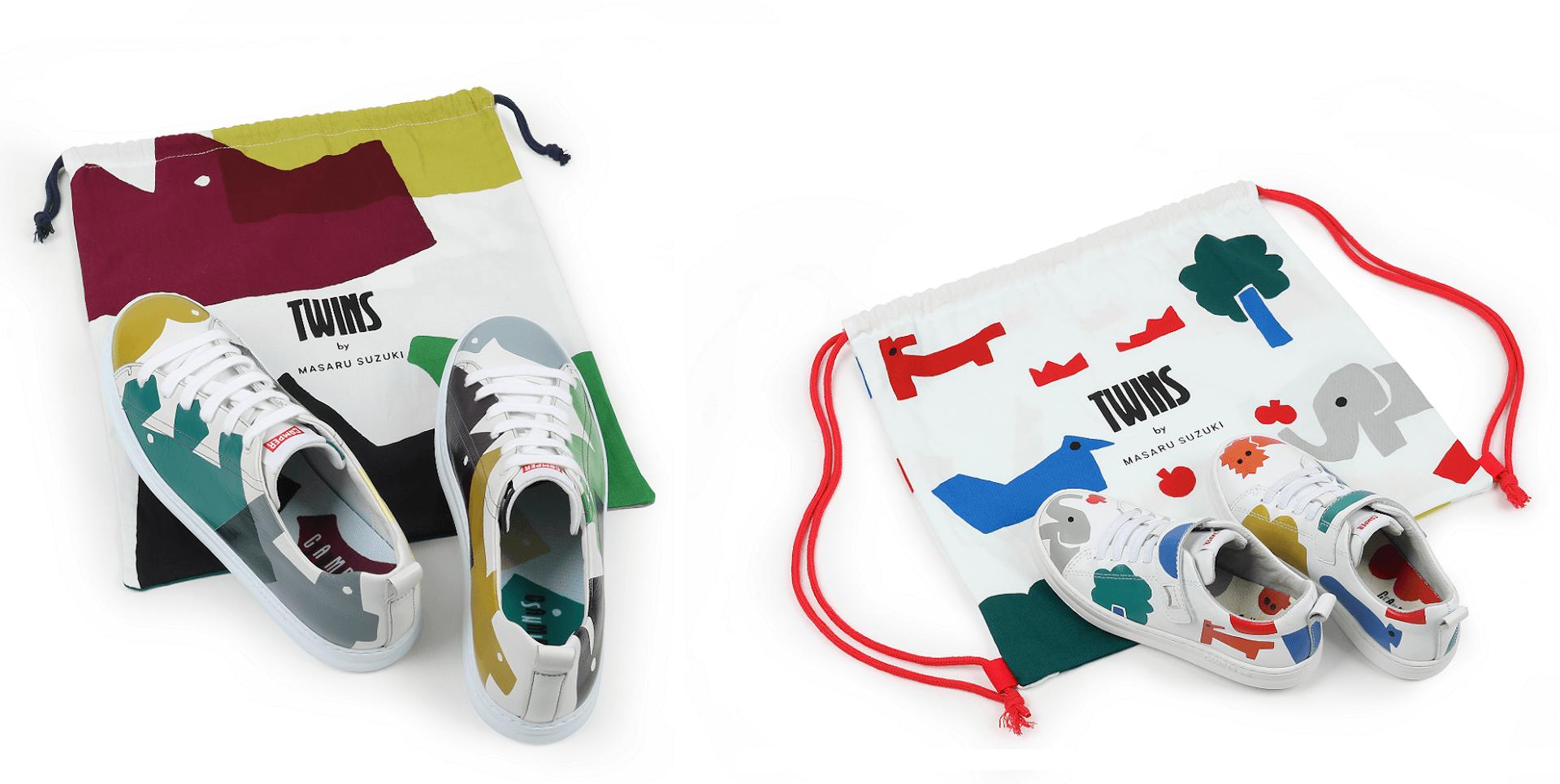 CAMPERと鈴木マサルが3度目のコラボコレクションを発表!RUNNERをベースにしたシューズや新作バッグなどが登場 fashion210118_camper_suzukimasaru_5
