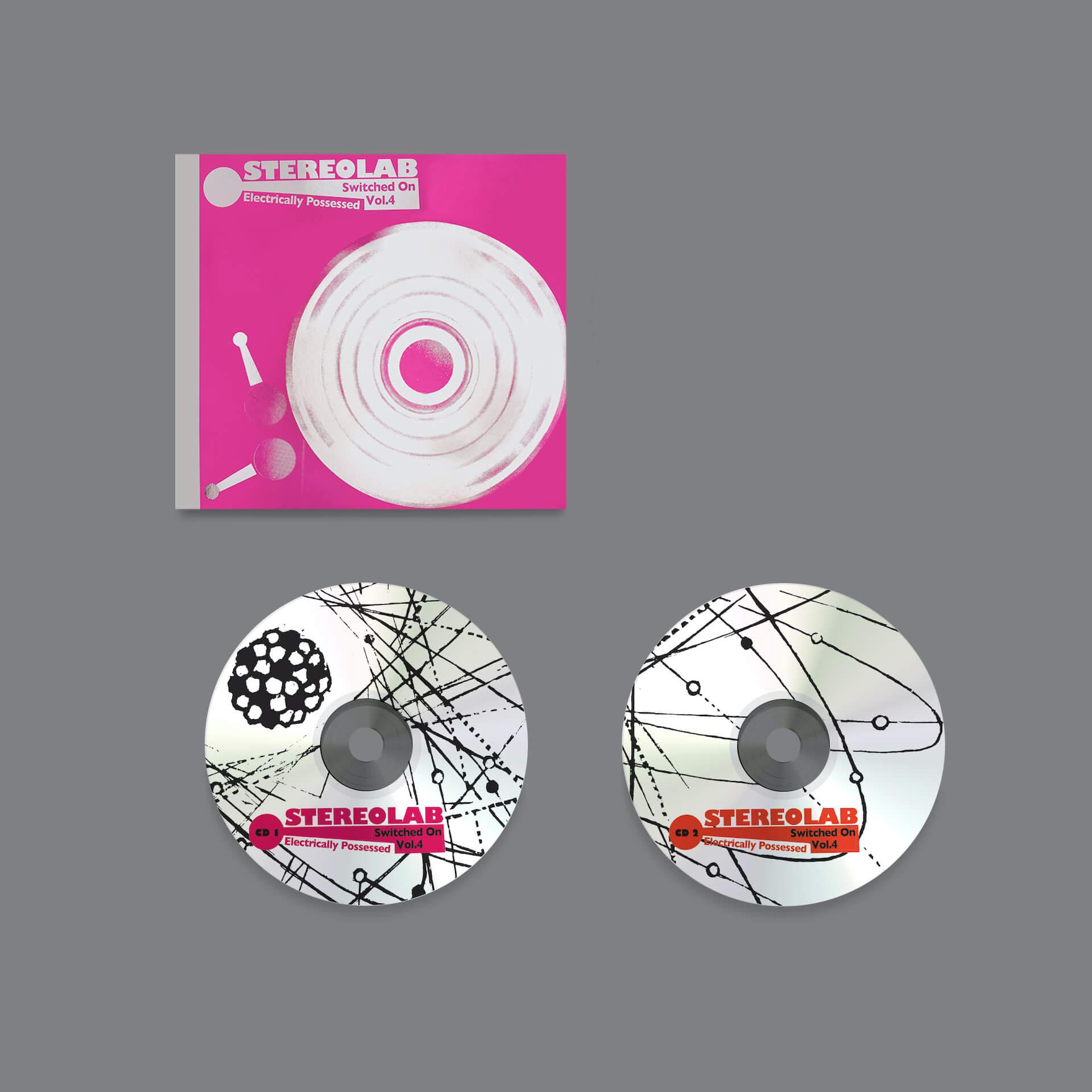 """再始動したSTEREOLABが23年振りのシングル集シリーズ最新作をリリース!先行シングル""""Dimension M2""""が解禁 music210118_stereolab-03"""