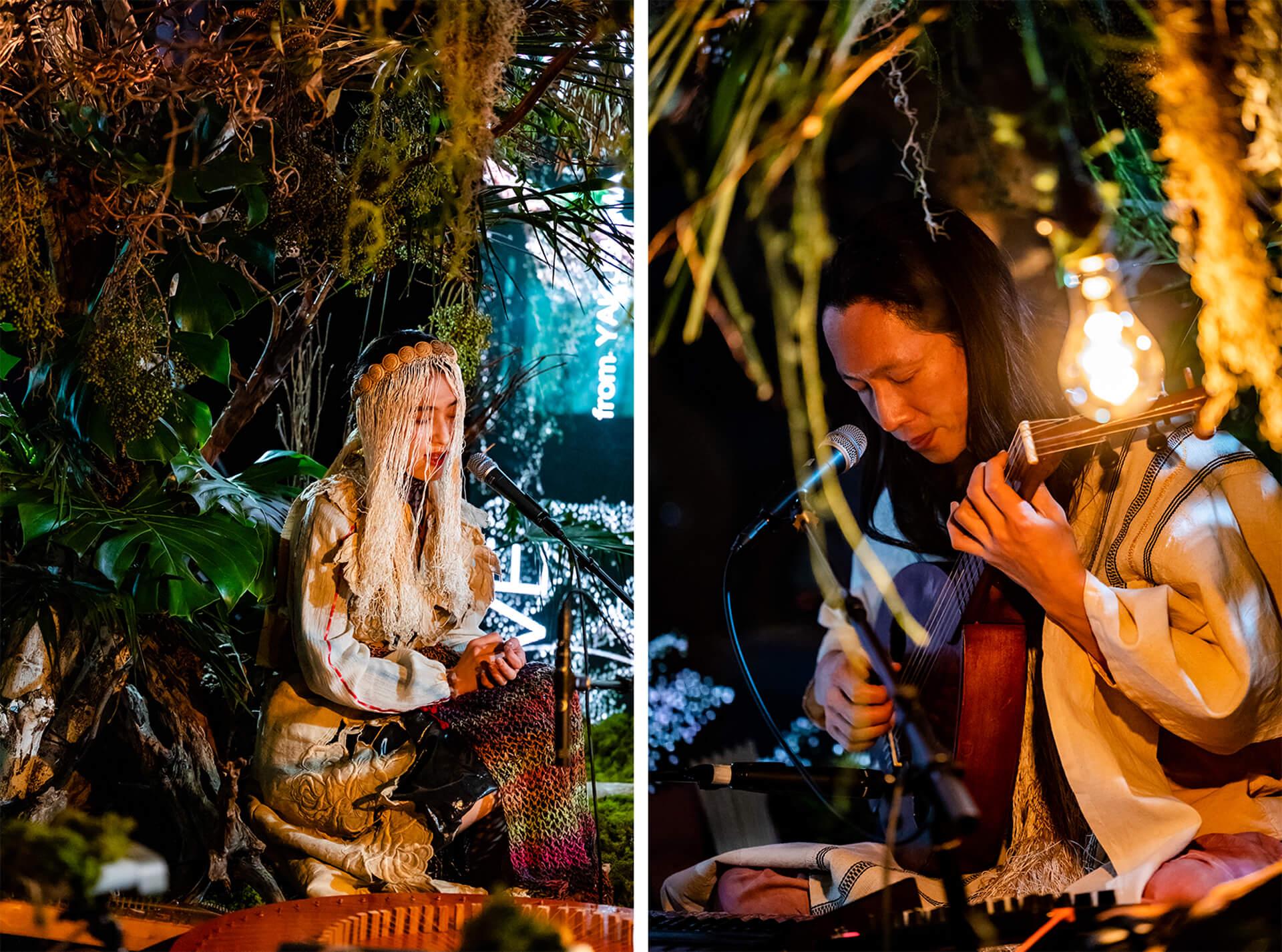 YAKUSHIMA TREASUREの死生観とポストコロナの表現 屋久島の原生林でのライヴ作品『ANOTHER LIVE』に迫る music210219_yakushimatreasure_002