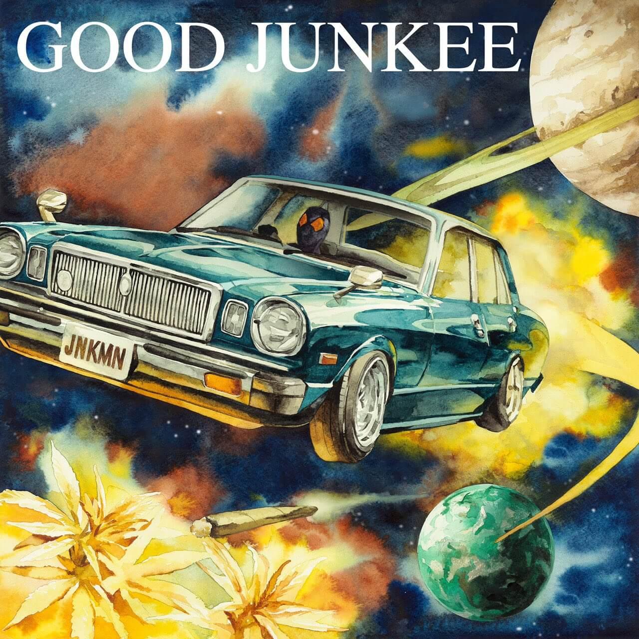 JNKMNが2ndアルバム『GOOD JUNKEE』をリリース|ゆるふわギャングやMonyHorse、Leon Fanourakis、SANTAWORLDVIEW、TAEYOらが参加 music210222-jnkmn-good-junkee
