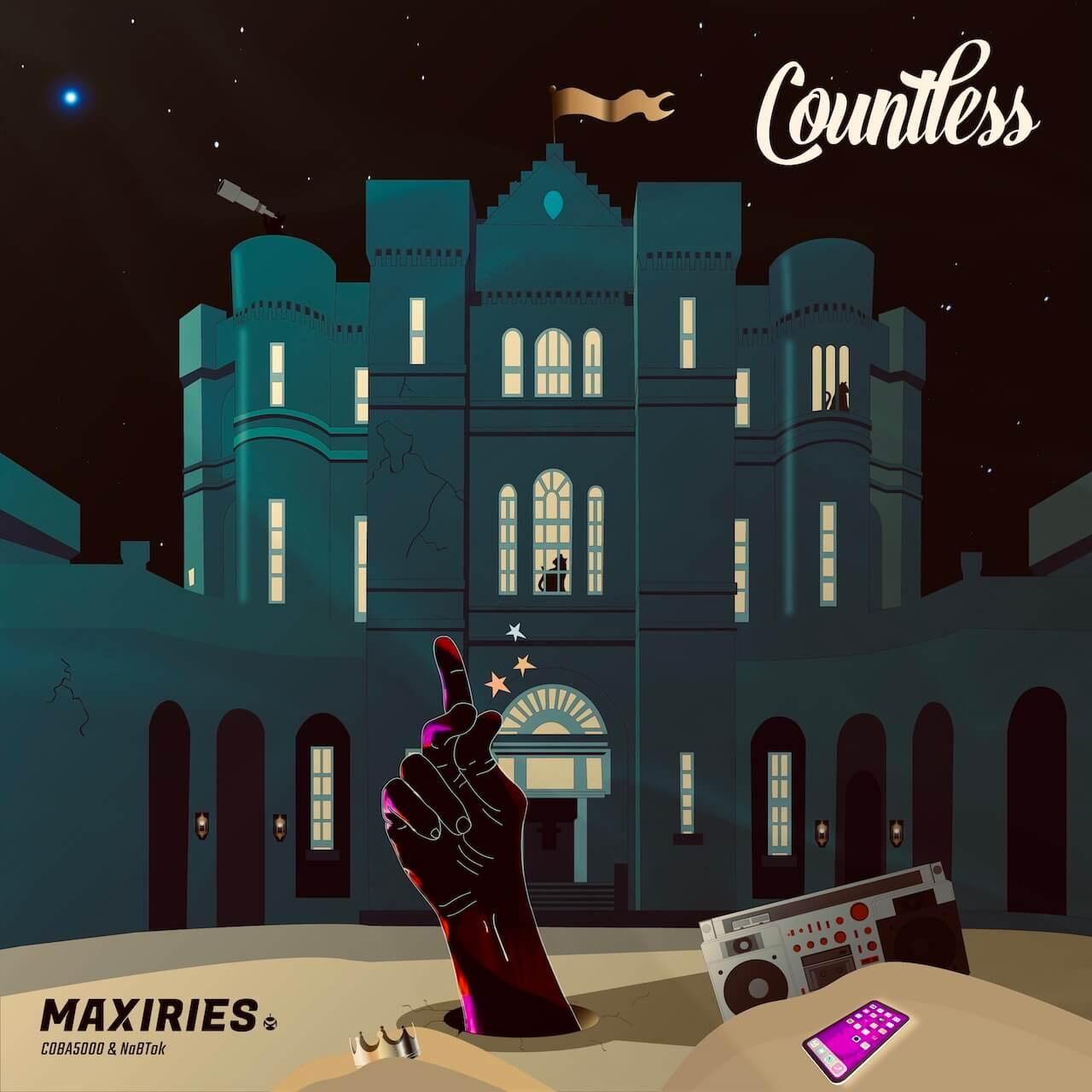 WAQWADOMなどの活動で知られるCOBA5000が初のソロEP『Countless』をリリース|NaBTokが全曲プロデュース music210225-coba5000-1