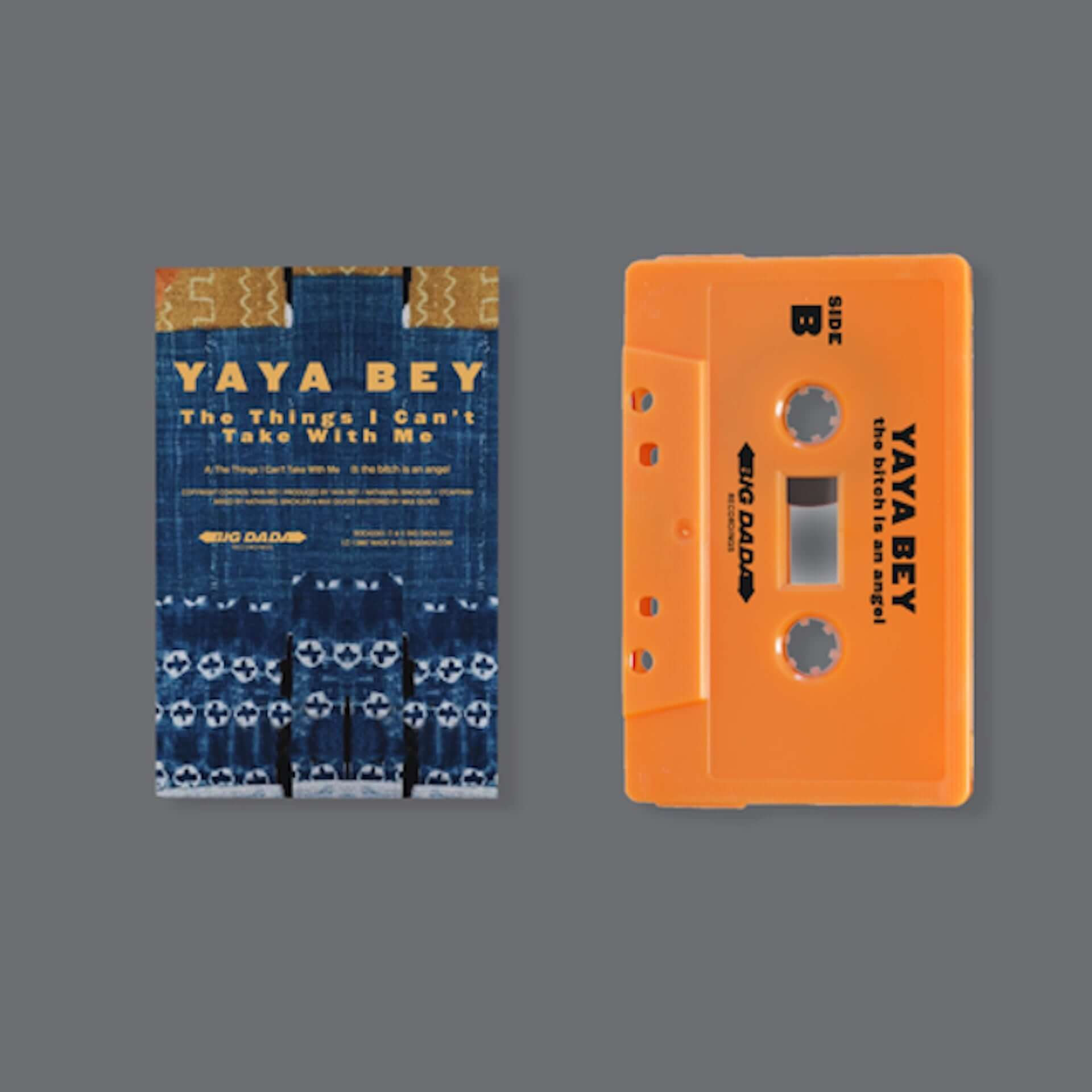 "〈Big Dada〉再始動後のリリース第1弾!Yaya Bey最新EP『The Things I Can't Take With Me』が発売決定&新曲""fxck it then""MVも公開 music210226_yaya-bey_5-1920x1920"