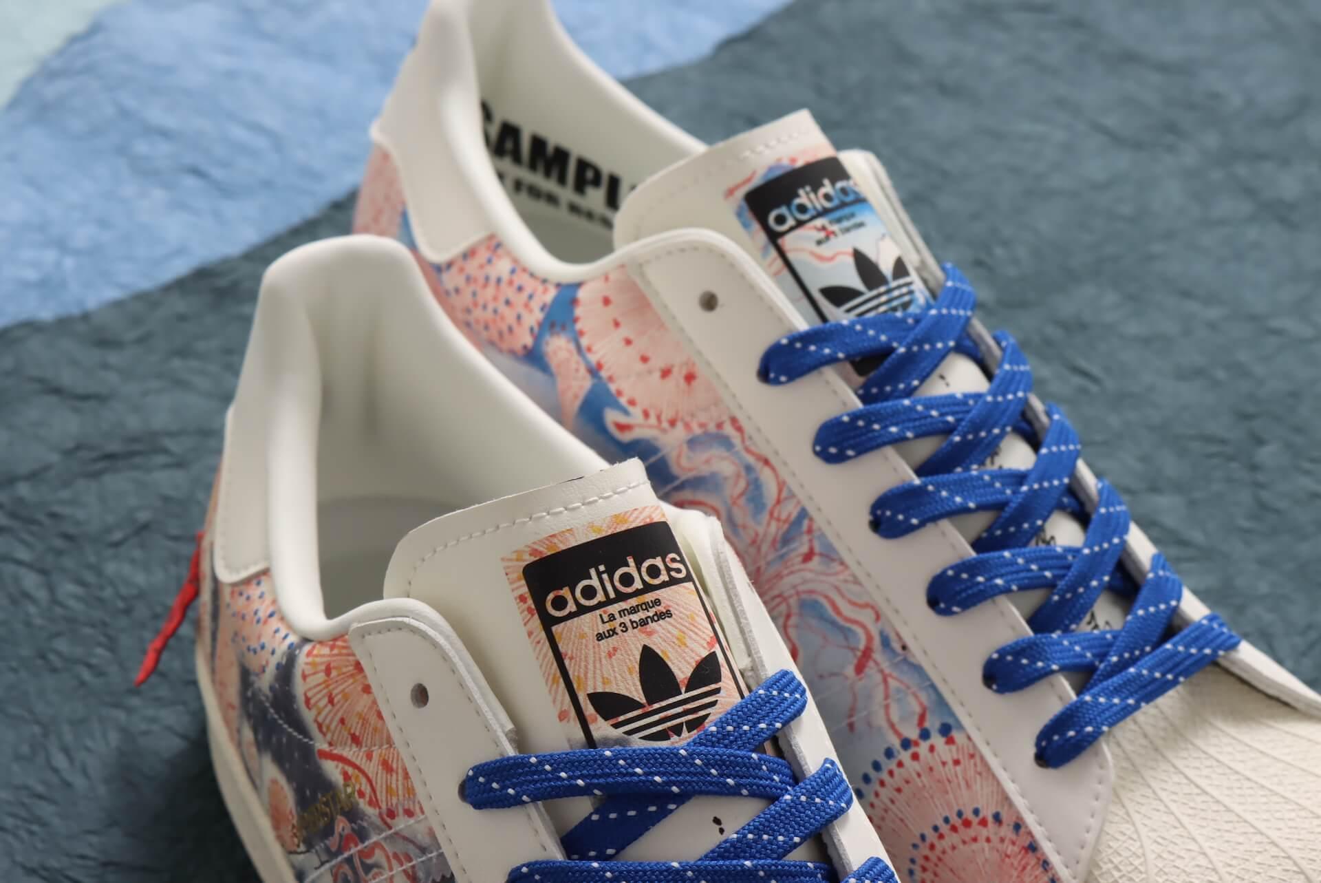 adidas OriginalsとThree Tides Tattoo、atmosのコラボスニーカーが登場!和柄を落とし込んだSUPERSTARが発売決定 life210301_adidas_ttt_4