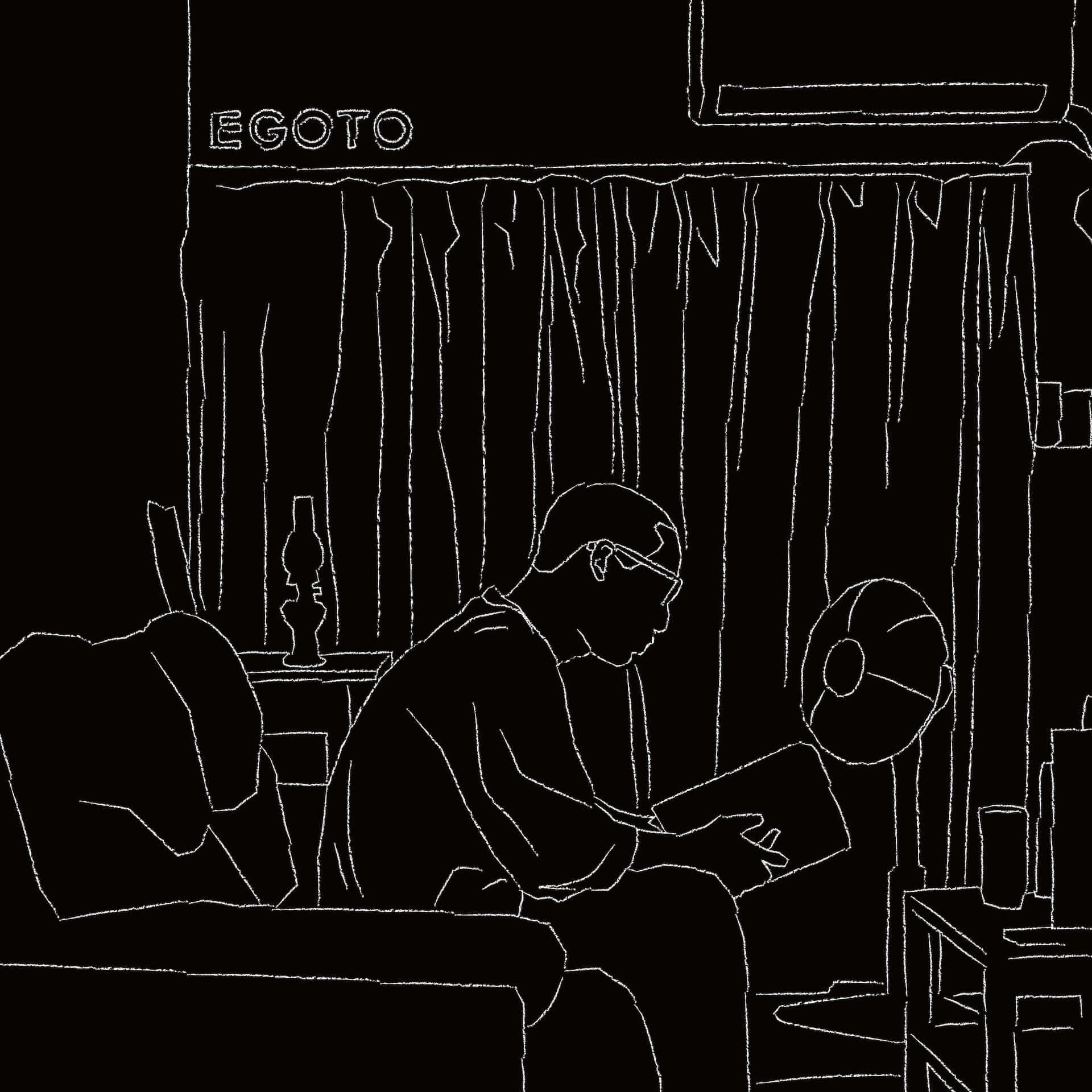 MGF・SIGEMARUが1stソロアルバム『EGOTO』のインスト版をデジタルリリース!曽我部恵一、Bugseed、DJ JUCOらが参加 music210303_sigemaru_1-1920x1920