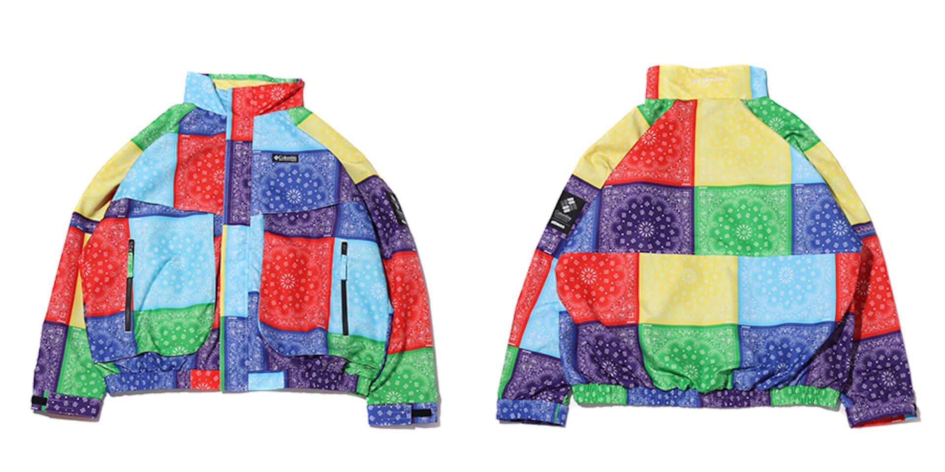 Columbiaとatmosによる2021年春夏コラボアイテムが発売!バンダナ柄BE@RBRICKをデザインしたTシャツなど多数展開 lf210304_columbia-atmos_2-1920x960