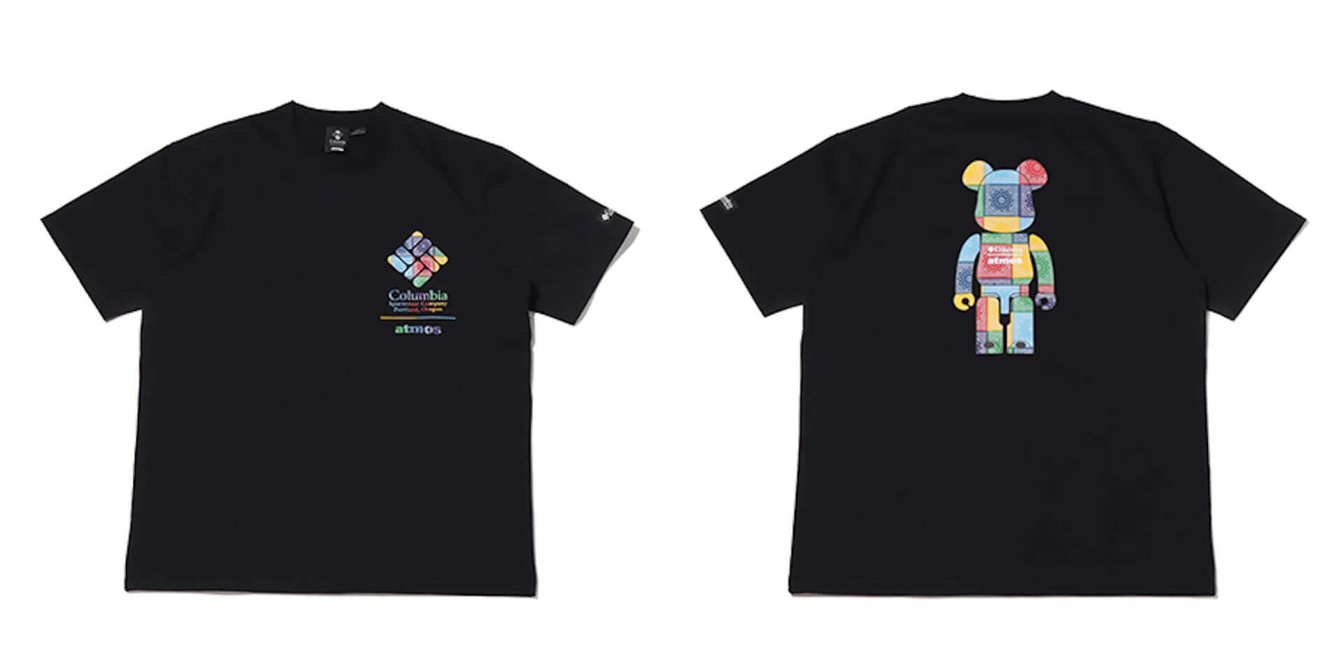Columbiaとatmosによる2021年春夏コラボアイテムが発売!バンダナ柄BE@RBRICKをデザインしたTシャツなど多数展開 lf210304_columbia-atmos_9-1920x960