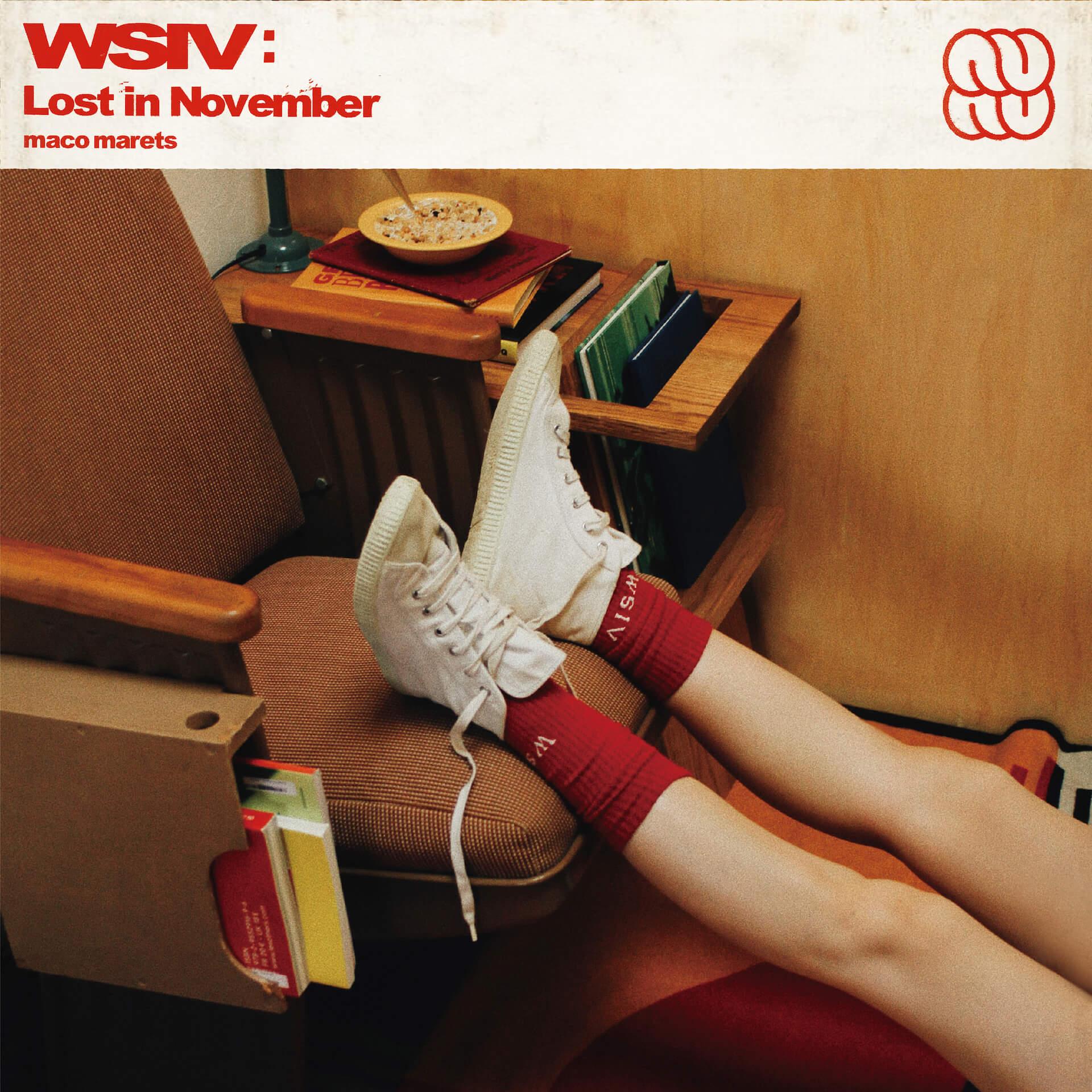 maco maretsが5thアルバム『WSIV:Lost in November』をリリース決定!週末CITY PLAY BOYZ・BUGS、さとうもか、Shin Sakiuraらが参加 eedc6273629143eb5e49be87d09018cb