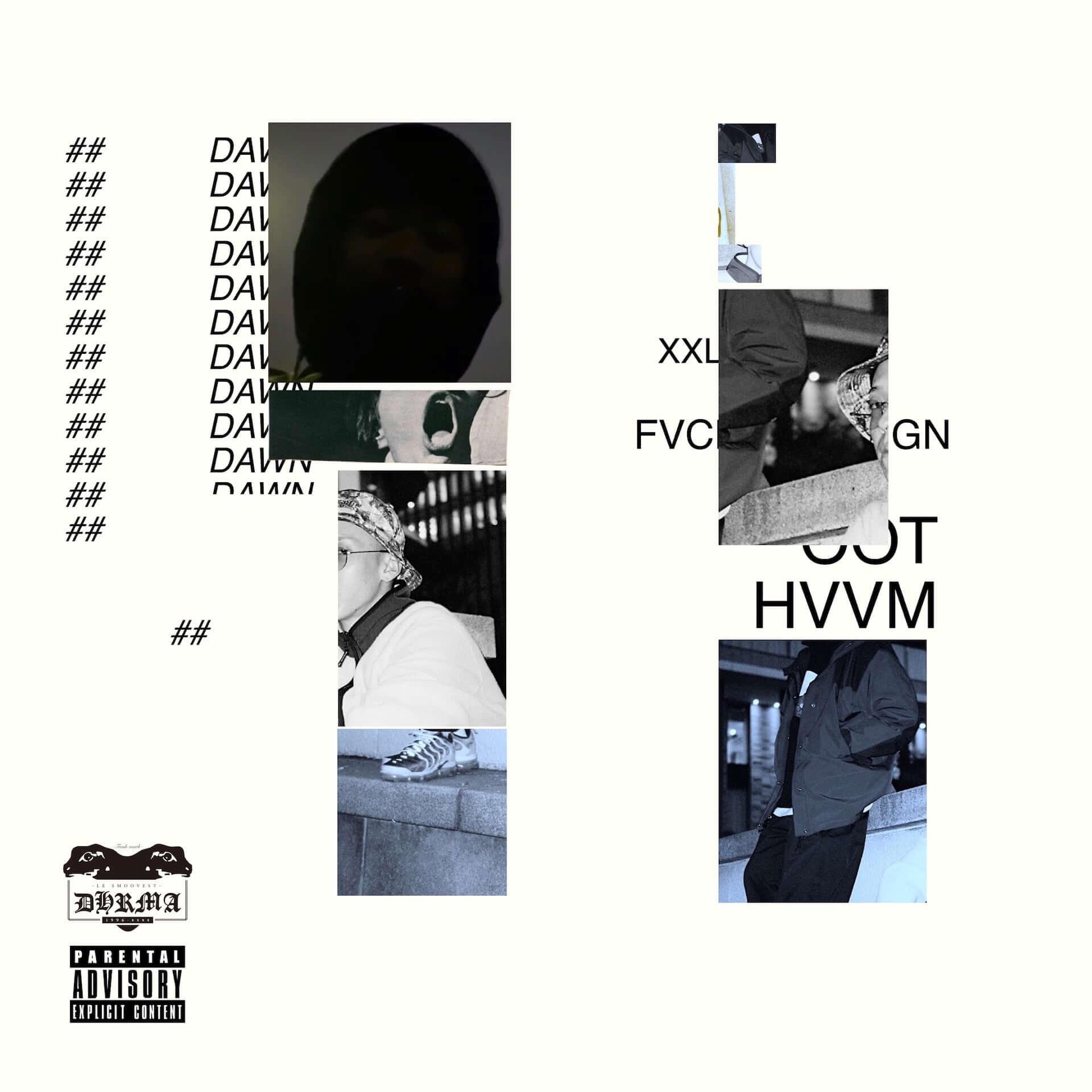 "SILENT KILLA JOINTとdhrmaのジョイントアルバム『DAWN』が本日リリース!収録曲""E.L.E""のMVも公開 music210310_silent-killa-joint_2-1920x1920"