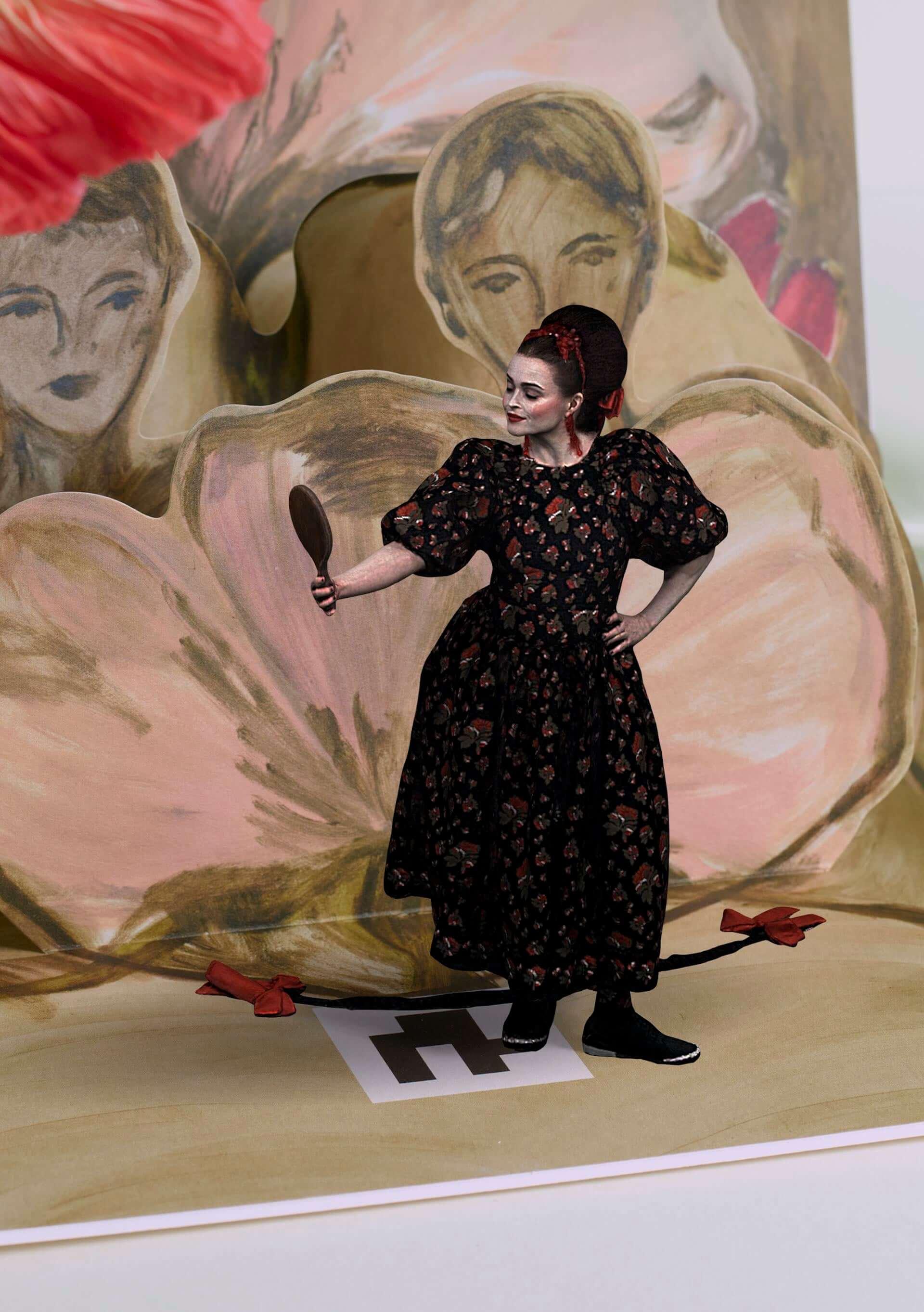 H&Mとシモーン・ロシャのコラボコレクションが登場!発売記念のARポップアップ・ブックにはヘレナ・ボナム・カーターらが参加 lf210310_handm_3-1920x2724