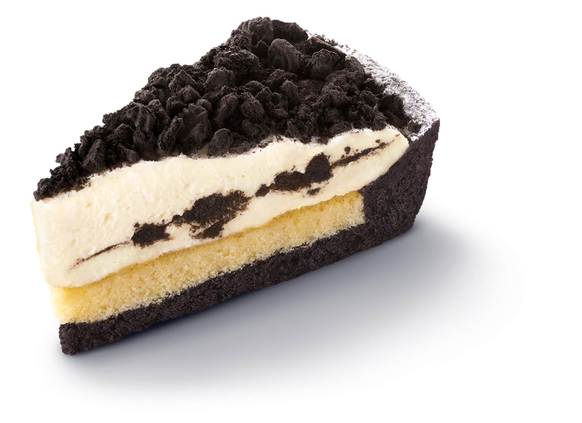 マクドナルドからオレオとのコラボチーズケーキ「オレオ クッキー チーズケーキ」が期間限定発売決定!500円のケーキセットも gourmet210317_mcdonald_oreo_6