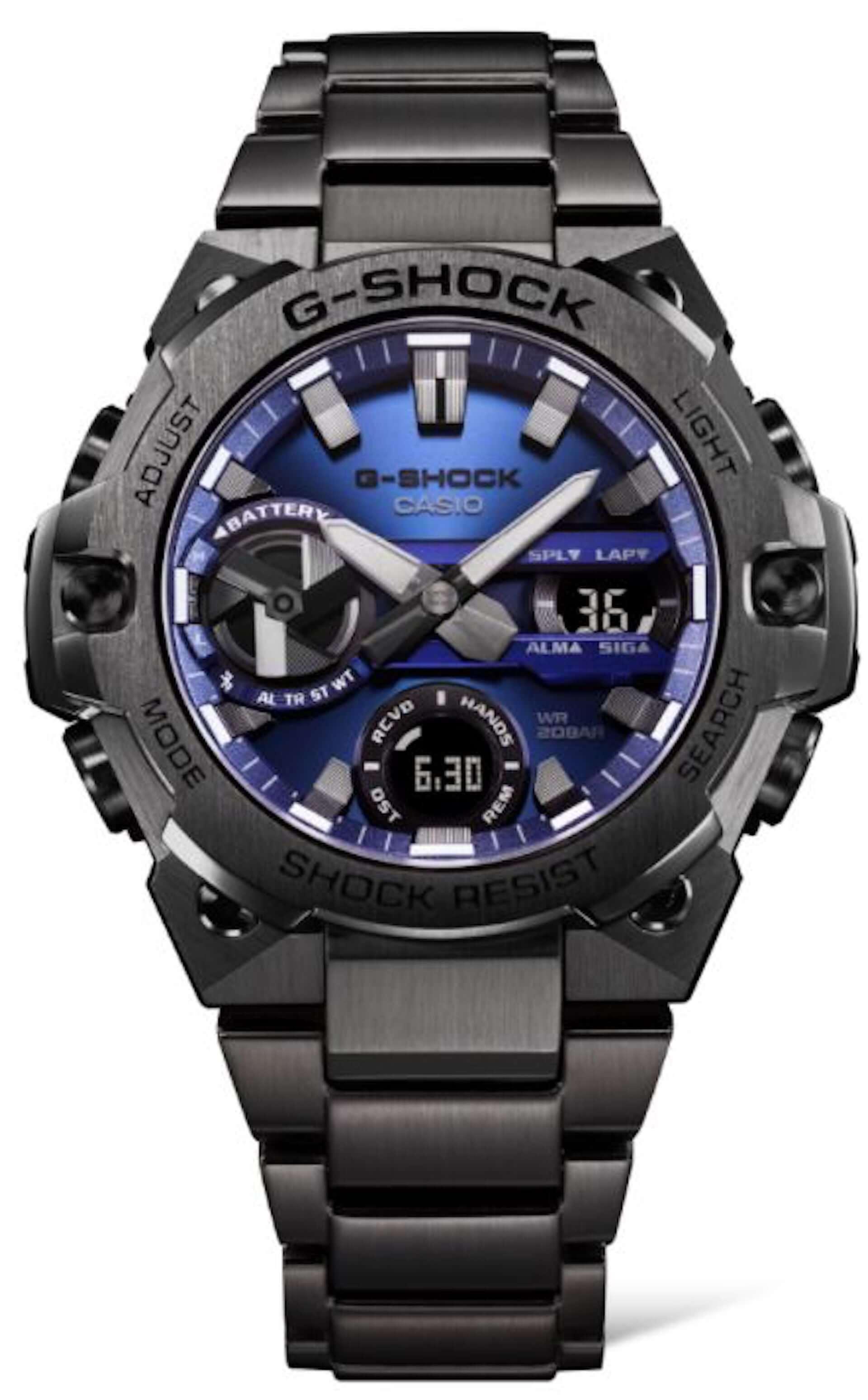 G-SHOCKから『G-STEEL』シリーズ最薄モデル『GST-B400』が新登場!個性的なブルーやレッドカラーも展開 tech210318_gshock_6-1920x3099