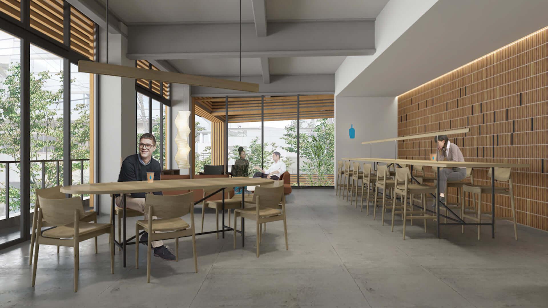 ブルーボトルコーヒー初の公園内カフェが渋谷に登場!ナチュラルワイン、ブランチプレートやチーズケーキも提供 gourmet210322_bluebottlecoffee_2-1920x1080