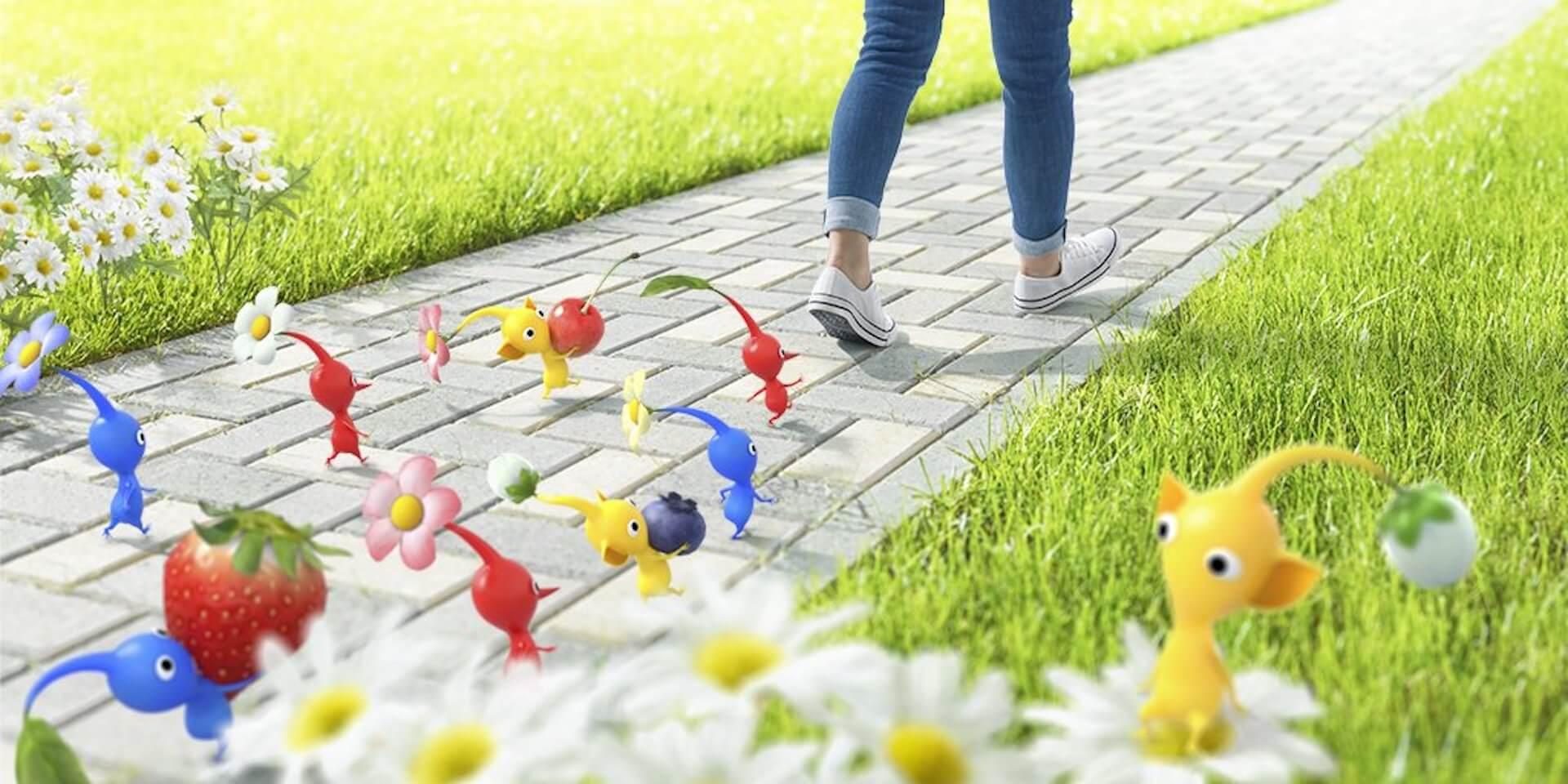 ピクミンと歩くことを楽しめるARアプリが誕生!任天堂・Niantic共同開発の新アプリがローンチ決定 tech210323_pikmin_niantic_1