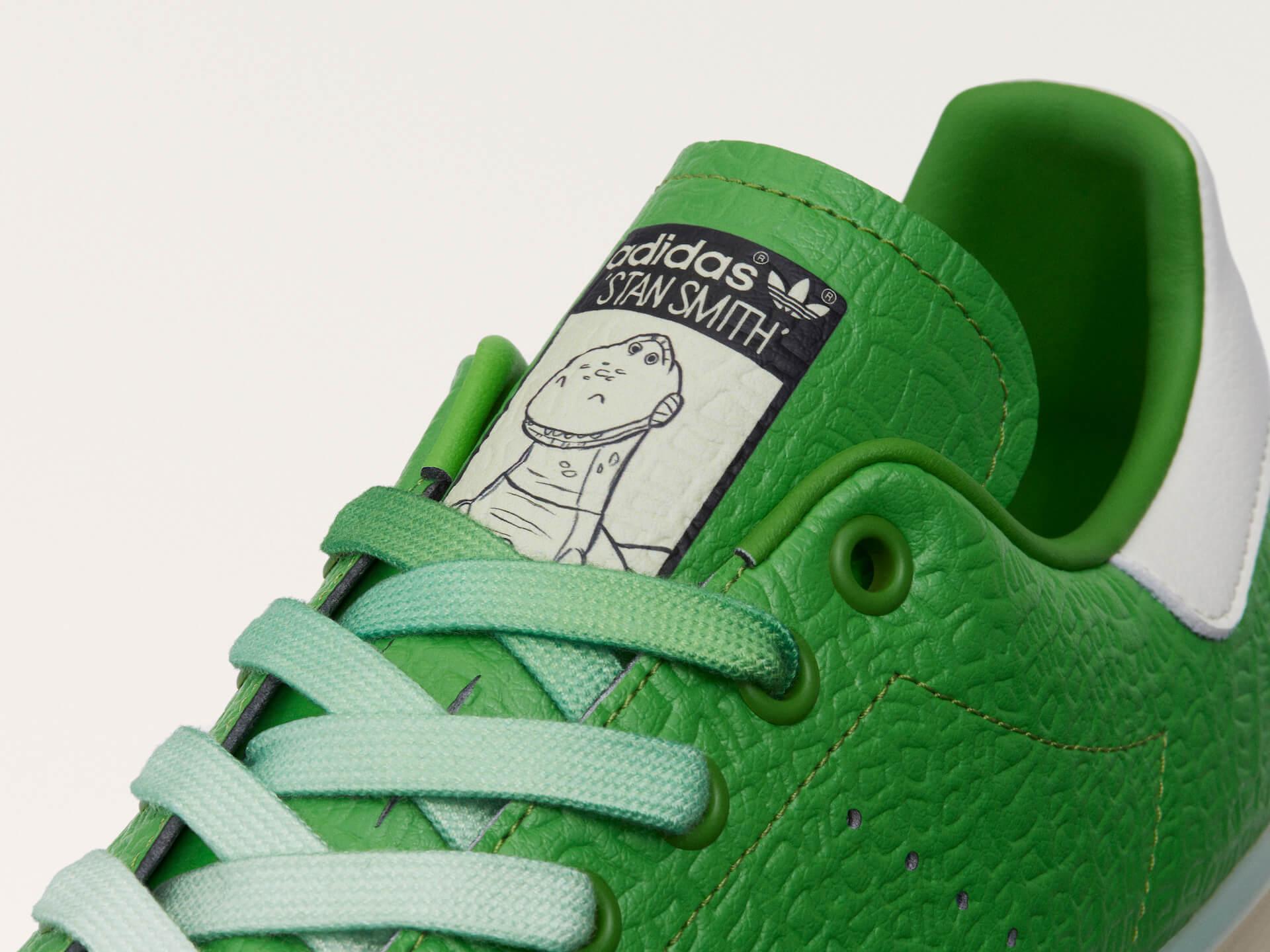 adidas「スタンスミス」のサステナブルコレクションに『モンスターズ・インク』マイク・ワゾウスキやマーベル・ハルクを配したモデルが登場! life210323_adidas_stansmith_7