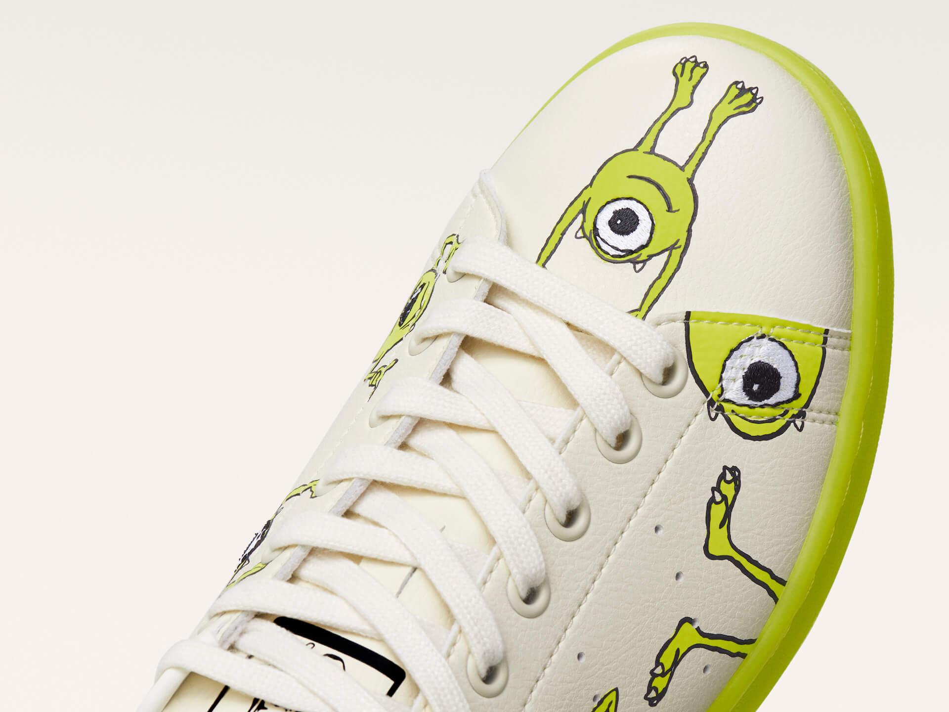 adidas「スタンスミス」のサステナブルコレクションに『モンスターズ・インク』マイク・ワゾウスキやマーベル・ハルクを配したモデルが登場! life210323_adidas_stansmith_10