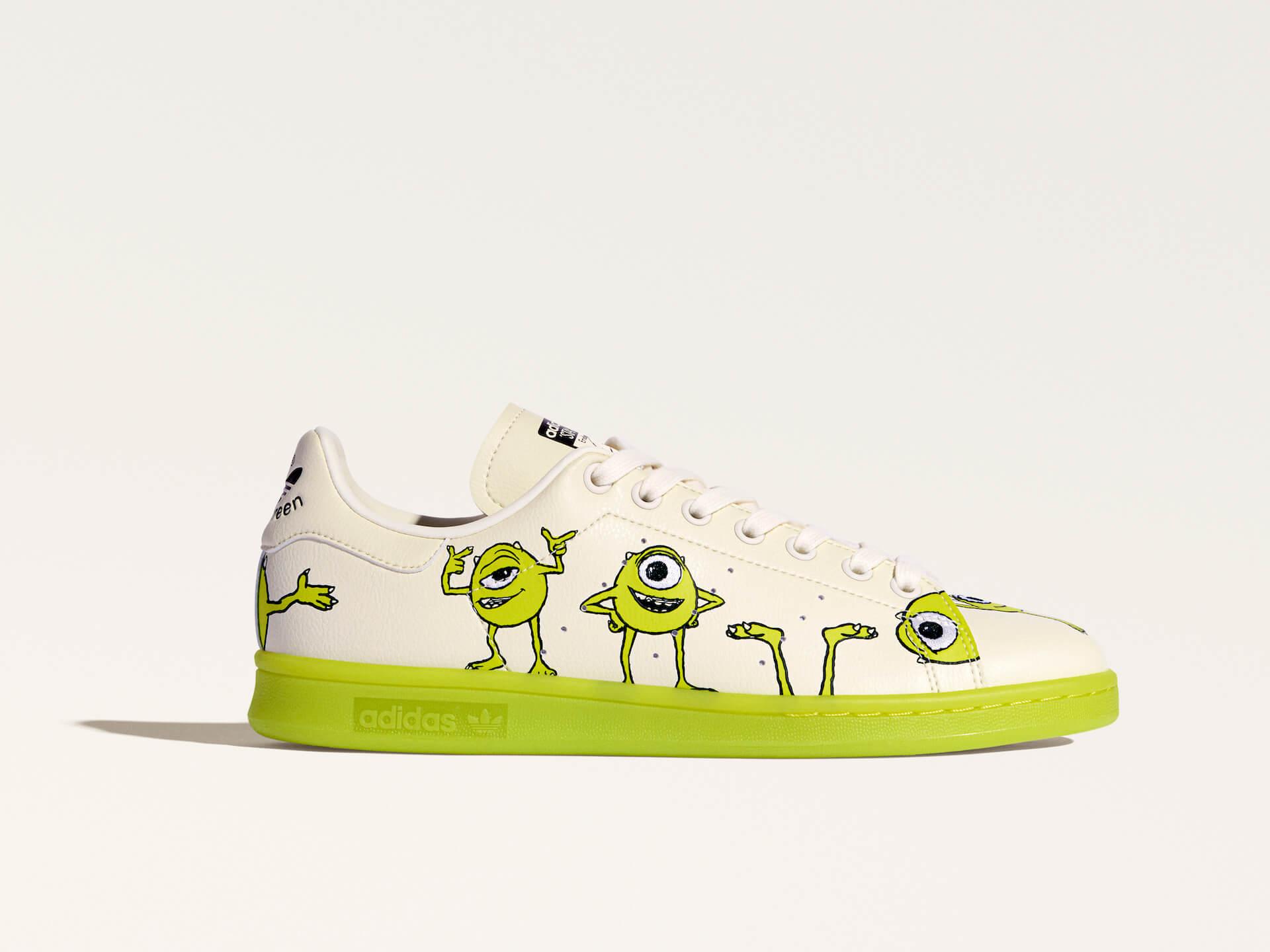 adidas「スタンスミス」のサステナブルコレクションに『モンスターズ・インク』マイク・ワゾウスキやマーベル・ハルクを配したモデルが登場! life210323_adidas_stansmith_11