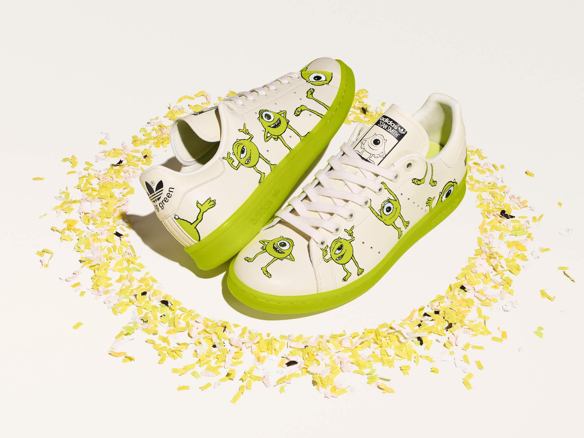 adidas「スタンスミス」のサステナブルコレクションに『モンスターズ・インク』マイク・ワゾウスキやマーベル・ハルクを配したモデルが登場! life210323_adidas_stansmith_12
