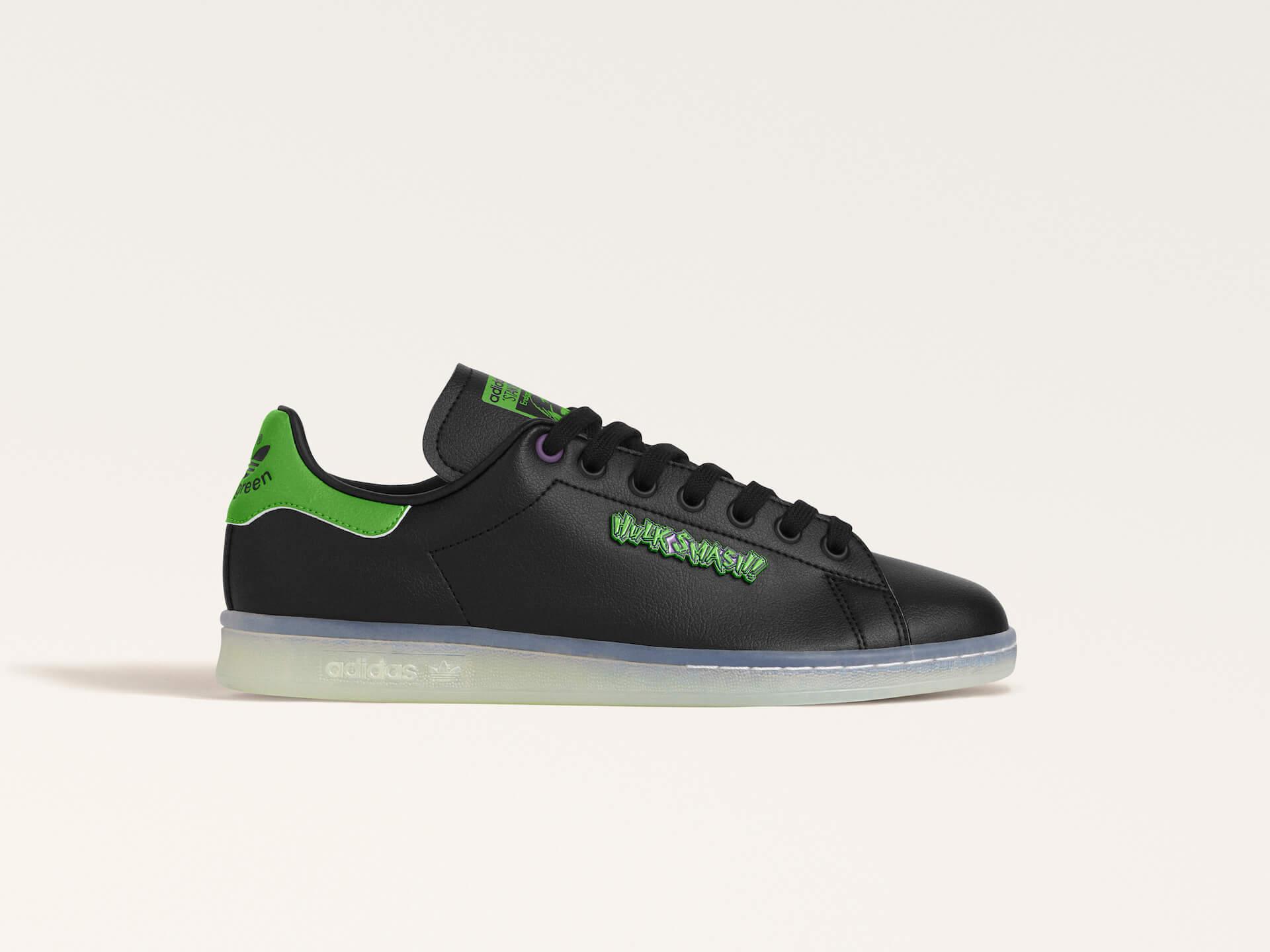 adidas「スタンスミス」のサステナブルコレクションに『モンスターズ・インク』マイク・ワゾウスキやマーベル・ハルクを配したモデルが登場! life210323_adidas_stansmith_17
