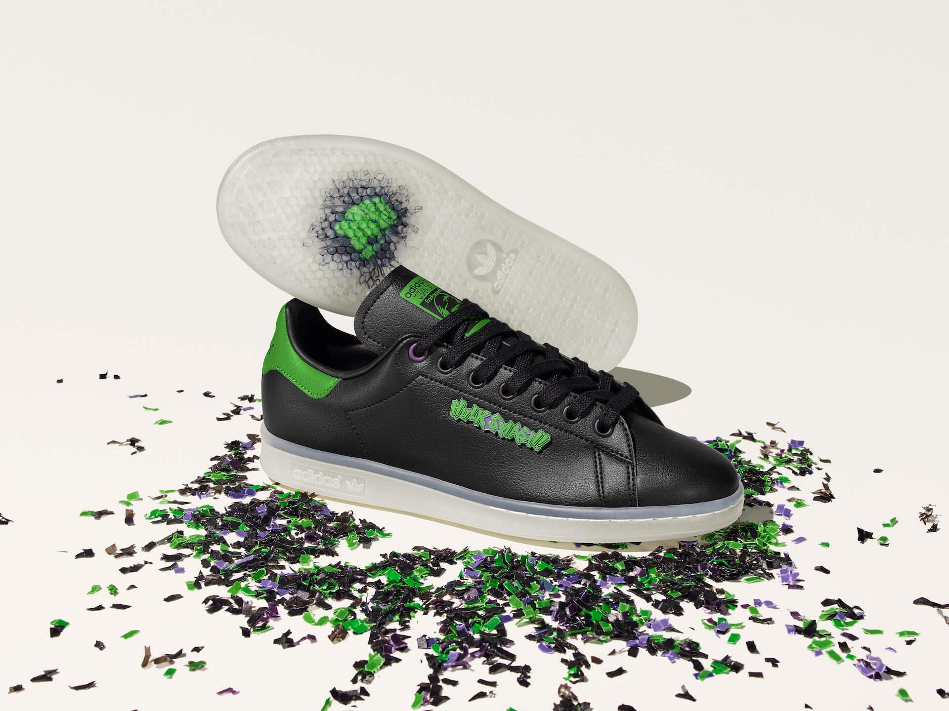 adidas「スタンスミス」のサステナブルコレクションに『モンスターズ・インク』マイク・ワゾウスキやマーベル・ハルクを配したモデルが登場! life210323_adidas_stansmith_18