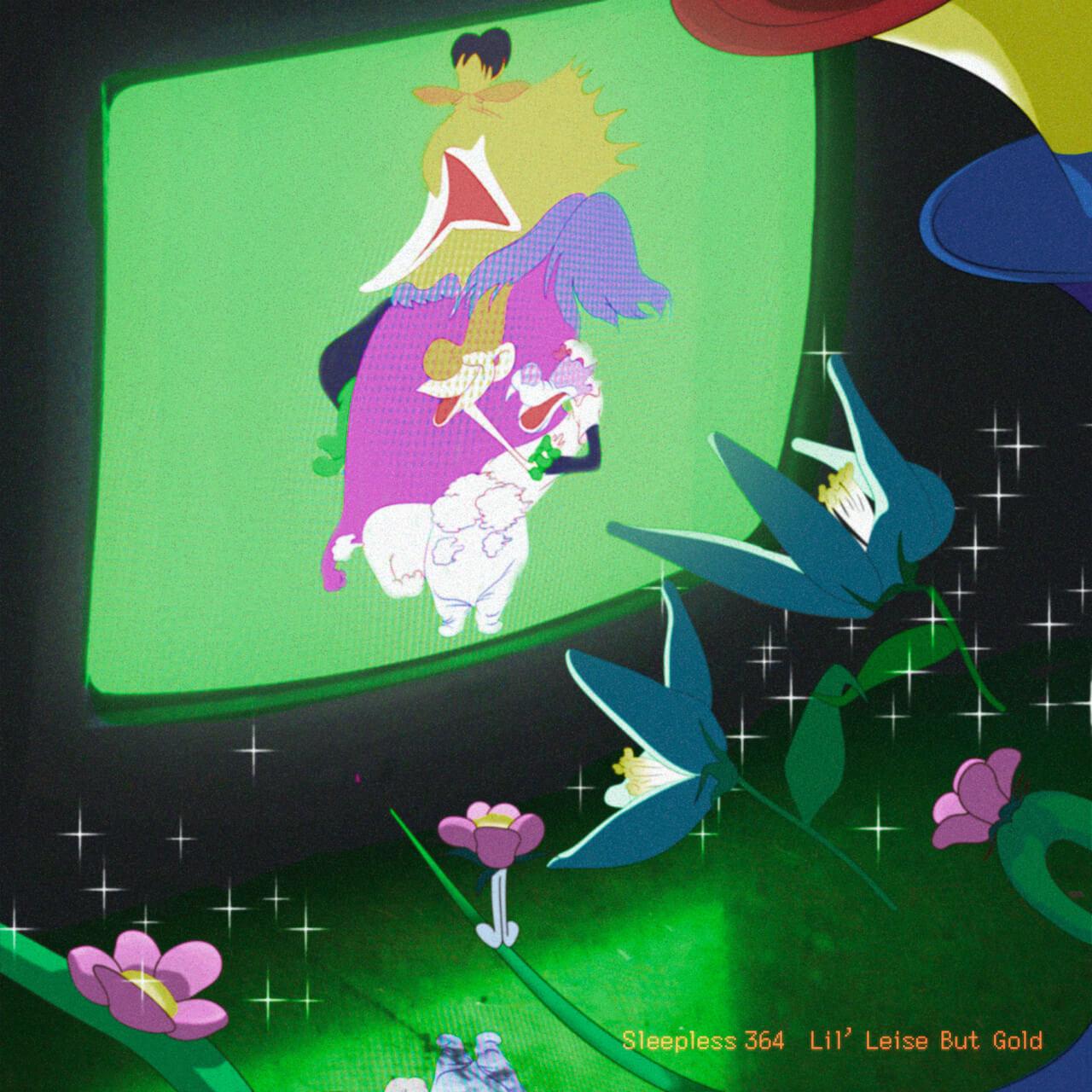 Lil'Leise But Gold、KMがフルプロデュースを務めた1st EP『Sleepless 364』をリリース YouthQuake・udaiが手掛けたMVも公開に music210324-lilleisebutgold-km-3