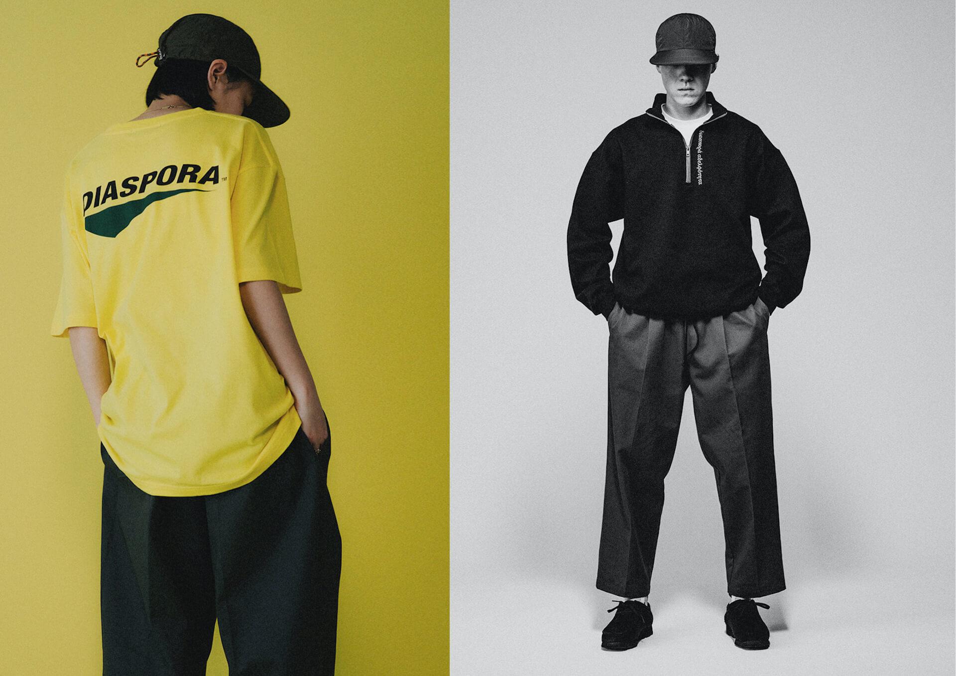Diaspora skateboardsが2021SSのルックビジュアルを公開!モデルにはmiuらを起用 fashion210225_diasporaskateboards-03